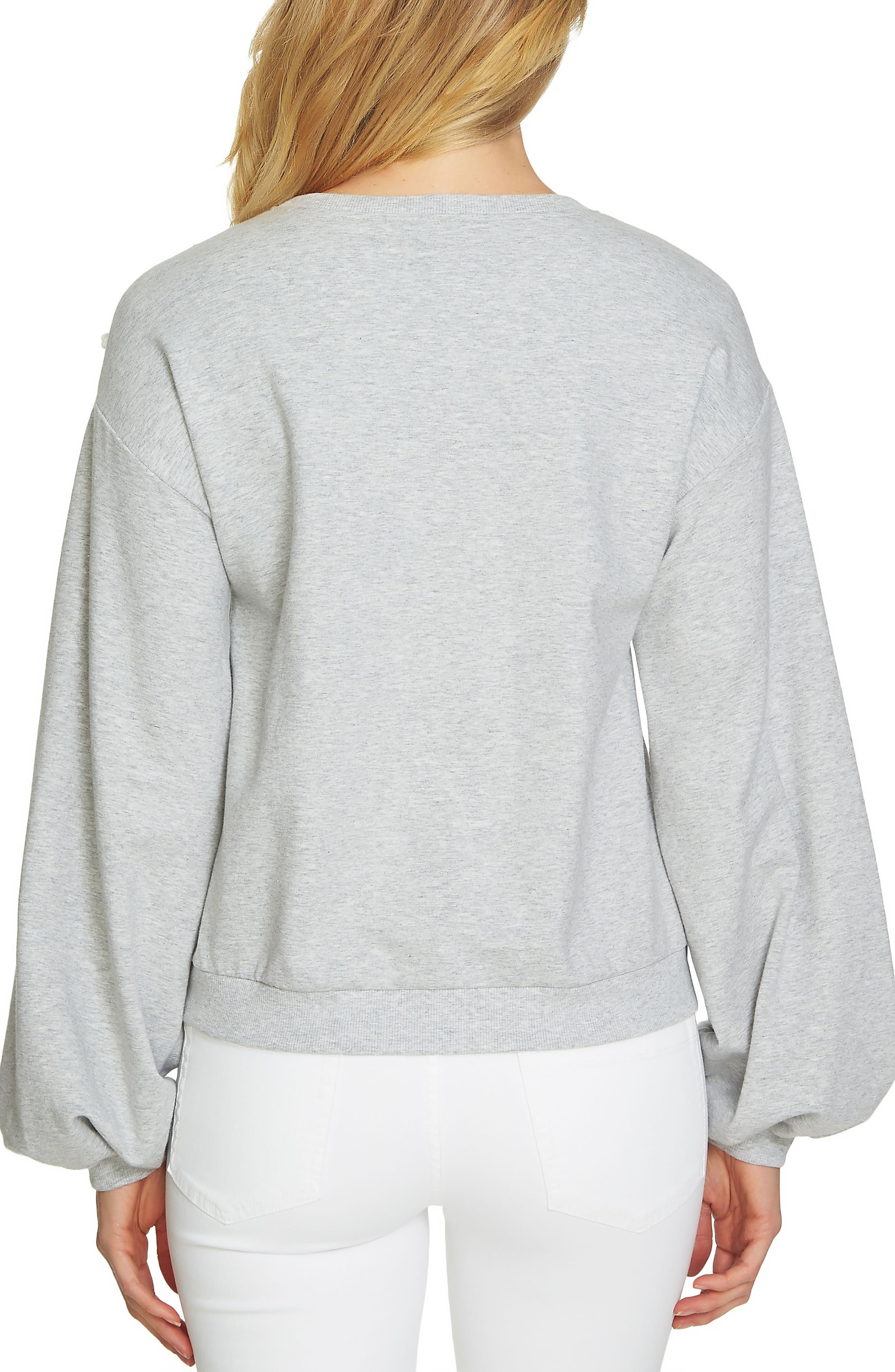 Embellished Sweatshirt,                             Alternate thumbnail 2, color,                             050