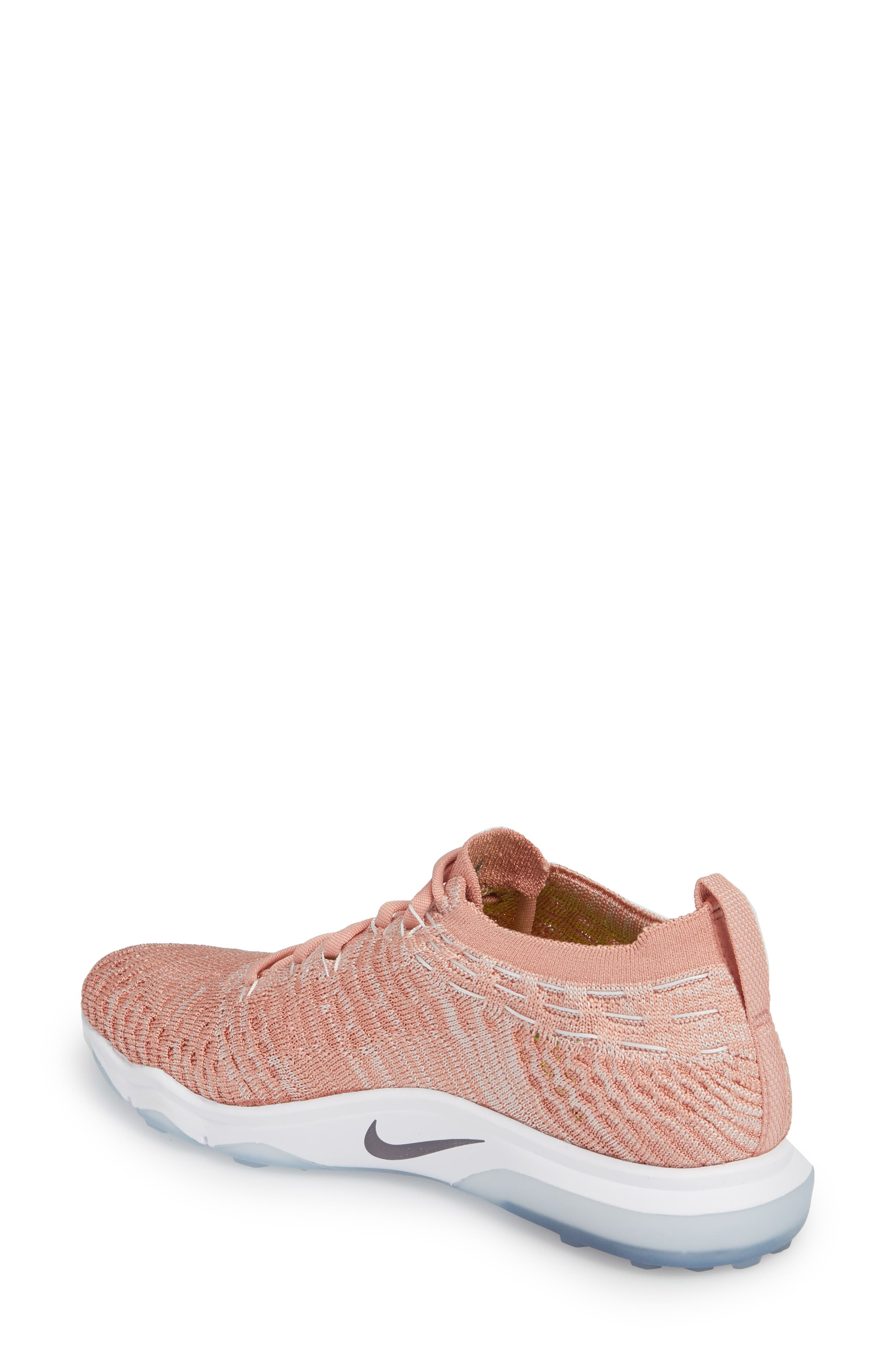 Air Zoom Fearless Flyknit Lux Training Shoe,                             Alternate thumbnail 7, color,