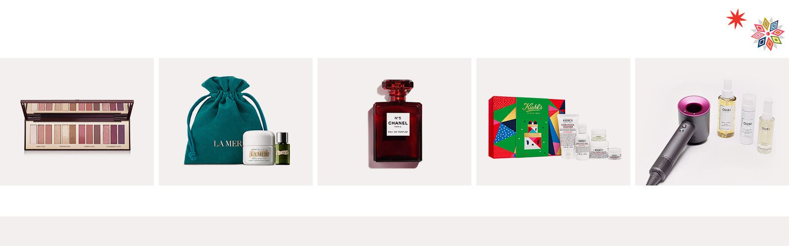 Feel-good beauty and fragrance gifts and values.