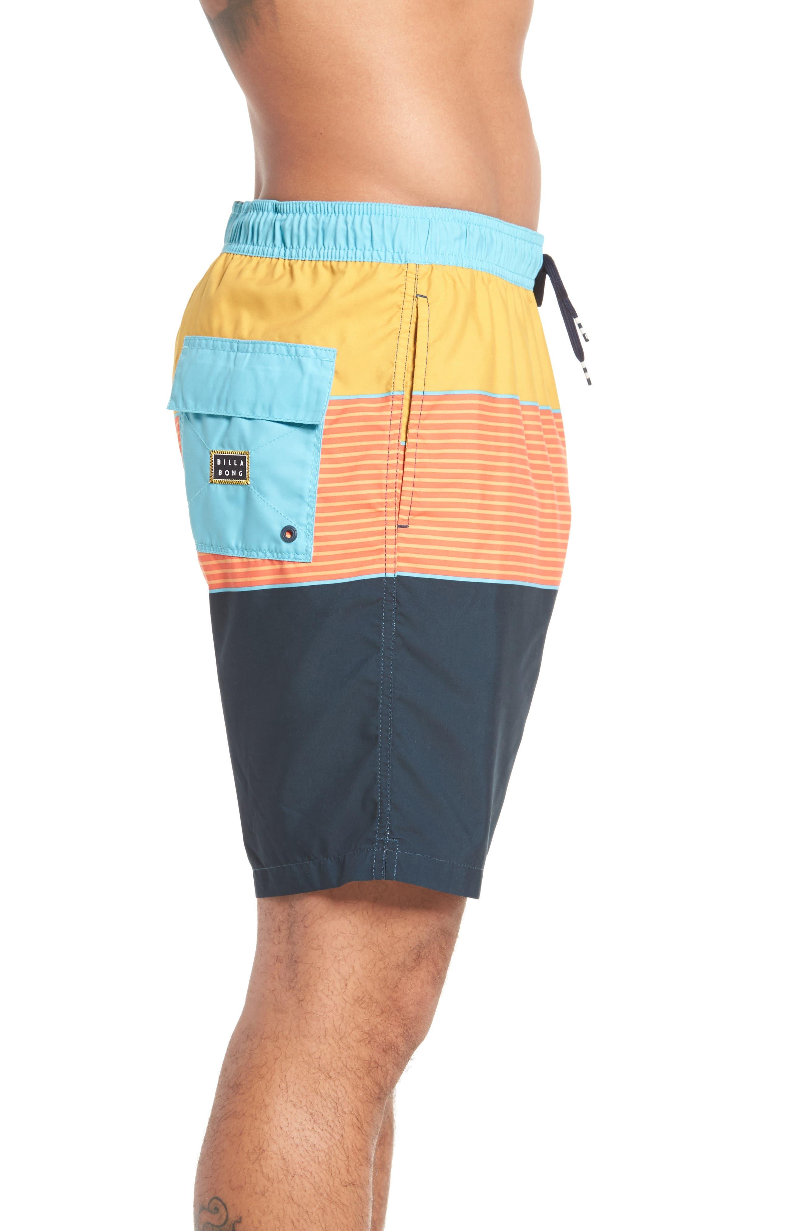 Tribong Layback Board Shorts,                             Alternate thumbnail 6, color,