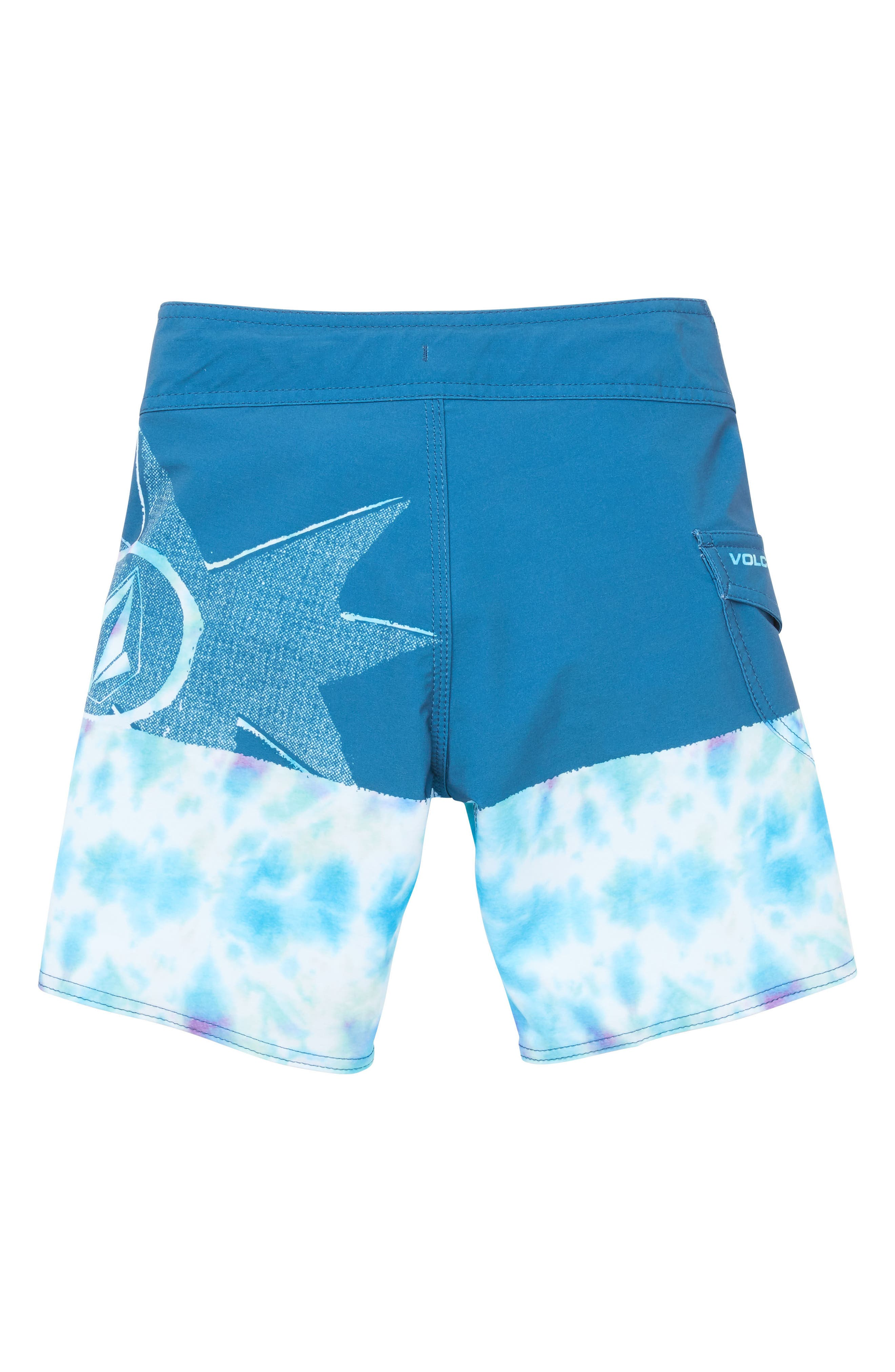 Lido Block Mod Board Shorts,                             Alternate thumbnail 2, color,                             440