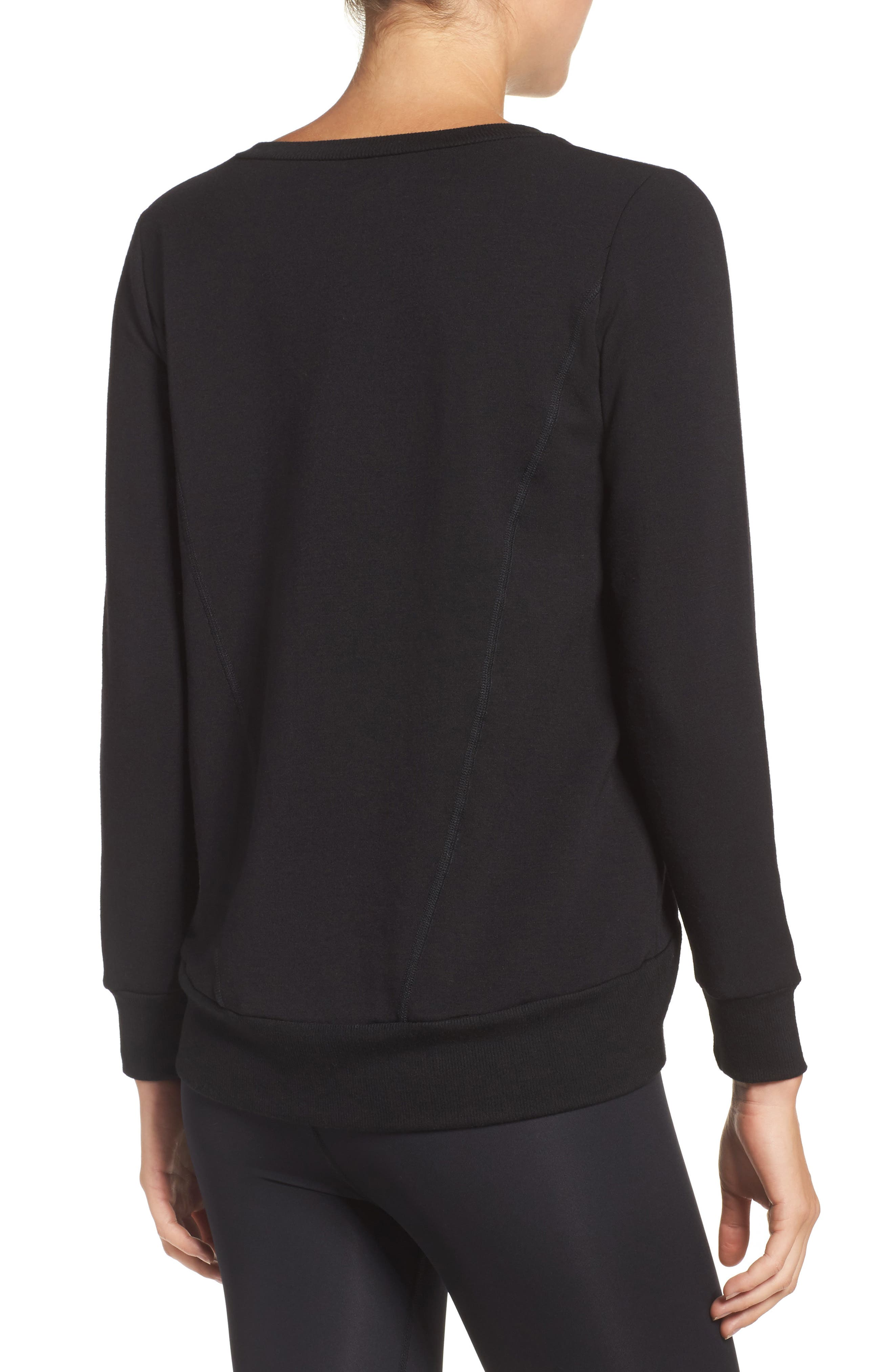 Fleece Pullover,                             Alternate thumbnail 2, color,                             001