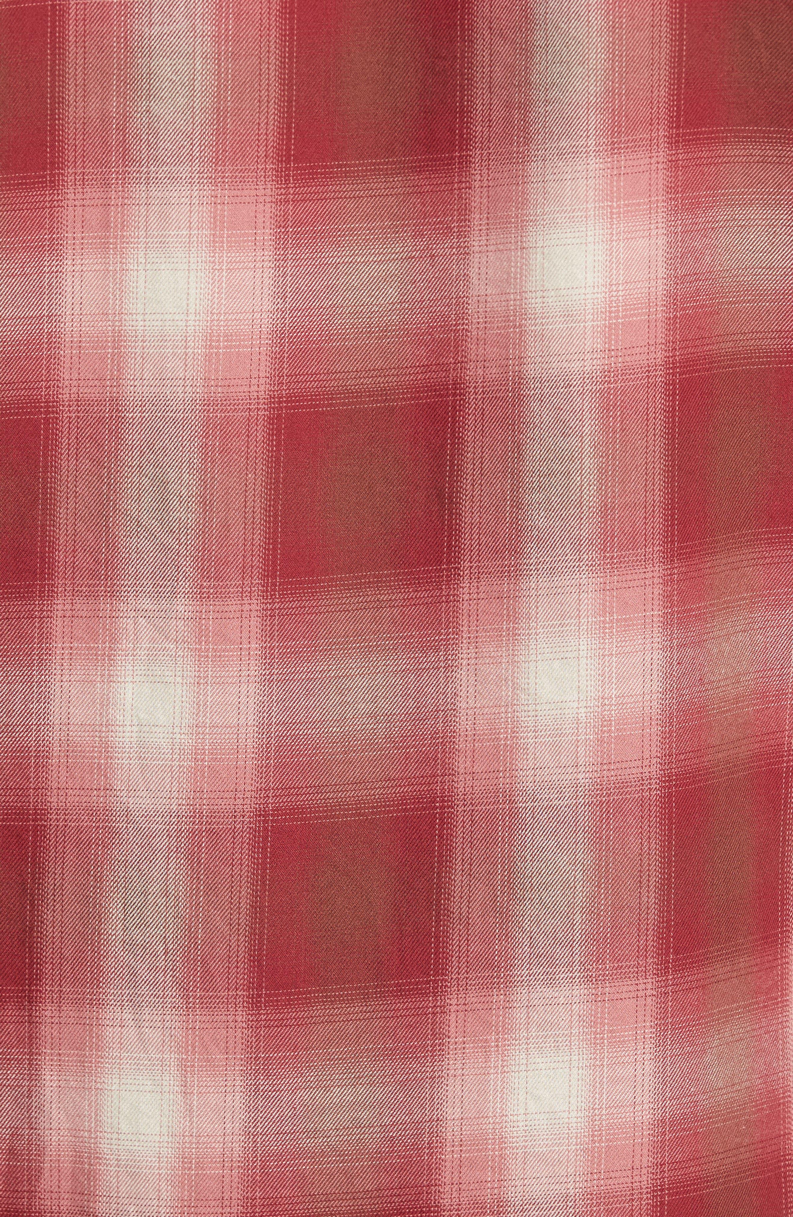 90s Plaid Flannel Shirt,                             Alternate thumbnail 5, color,                             643