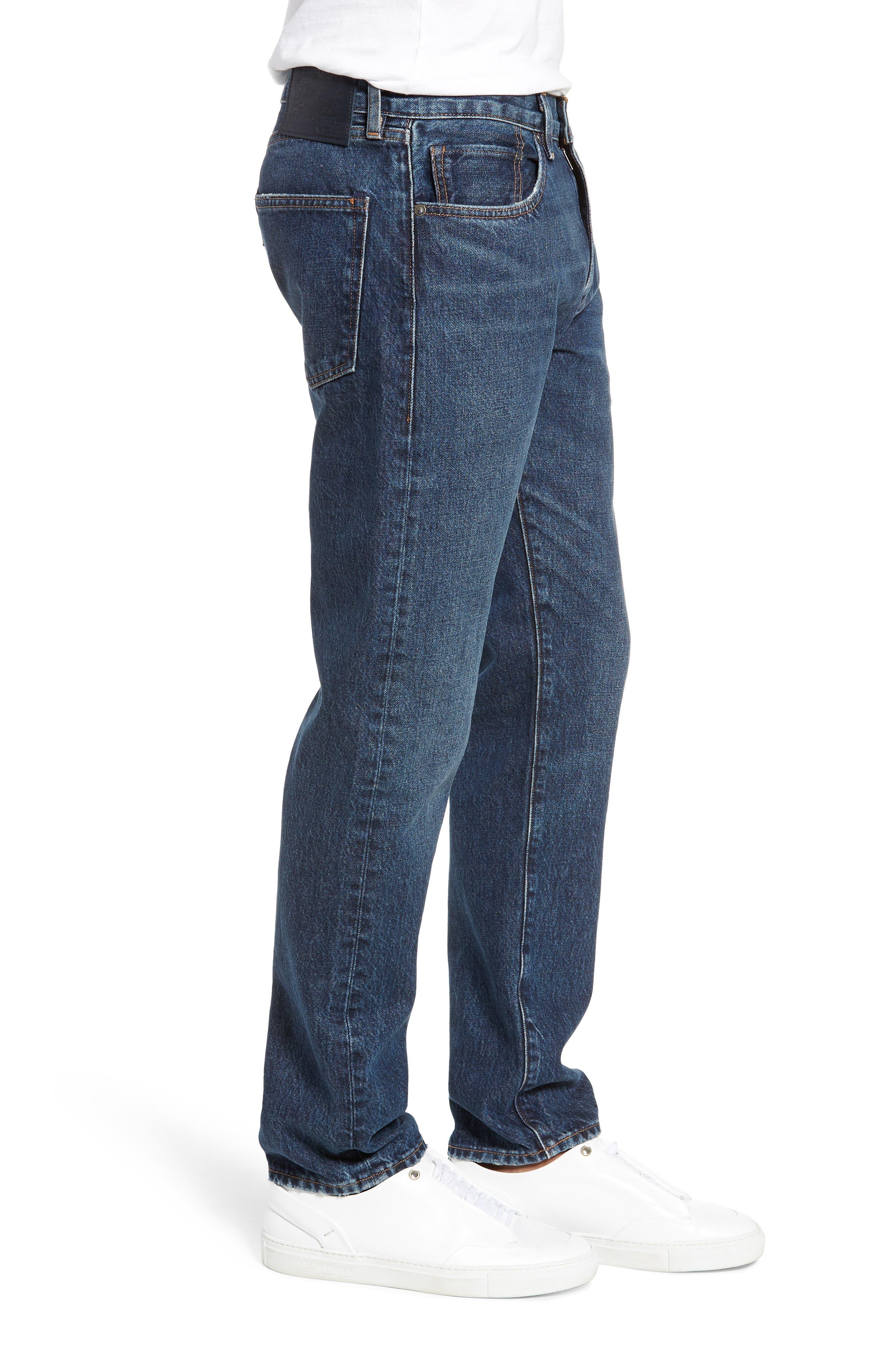 502<sup>™</sup> Straight Leg Jeans,                             Alternate thumbnail 3, color,                             401