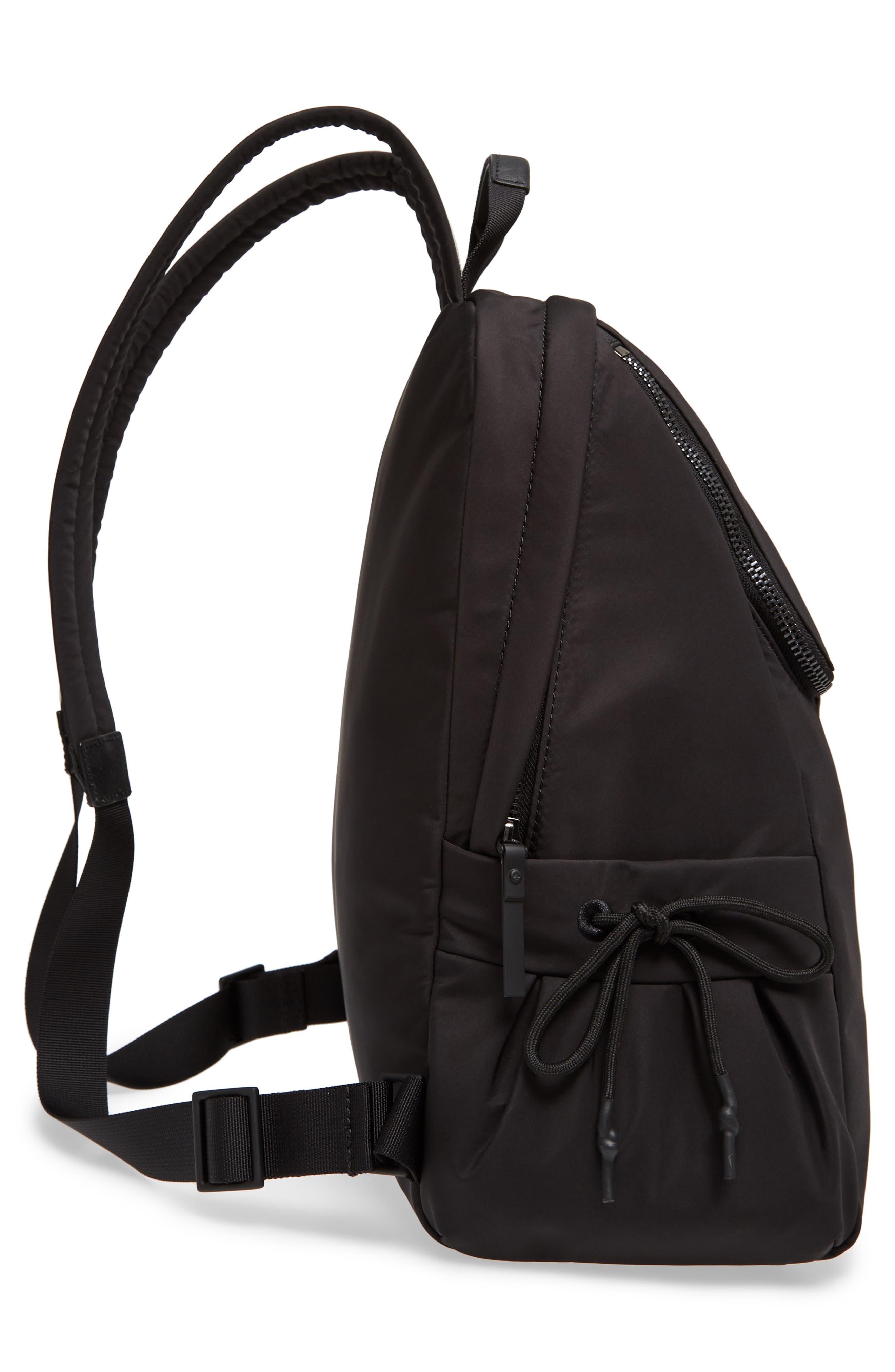 that's the spirit nylon backpack,                             Alternate thumbnail 5, color,                             BLACK