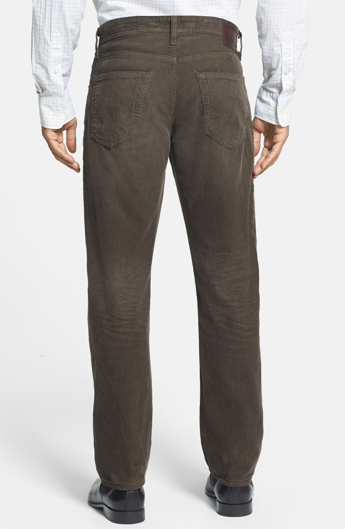 'Graduate' Tailored Straight Leg Corduroy Pants,                             Alternate thumbnail 22, color,