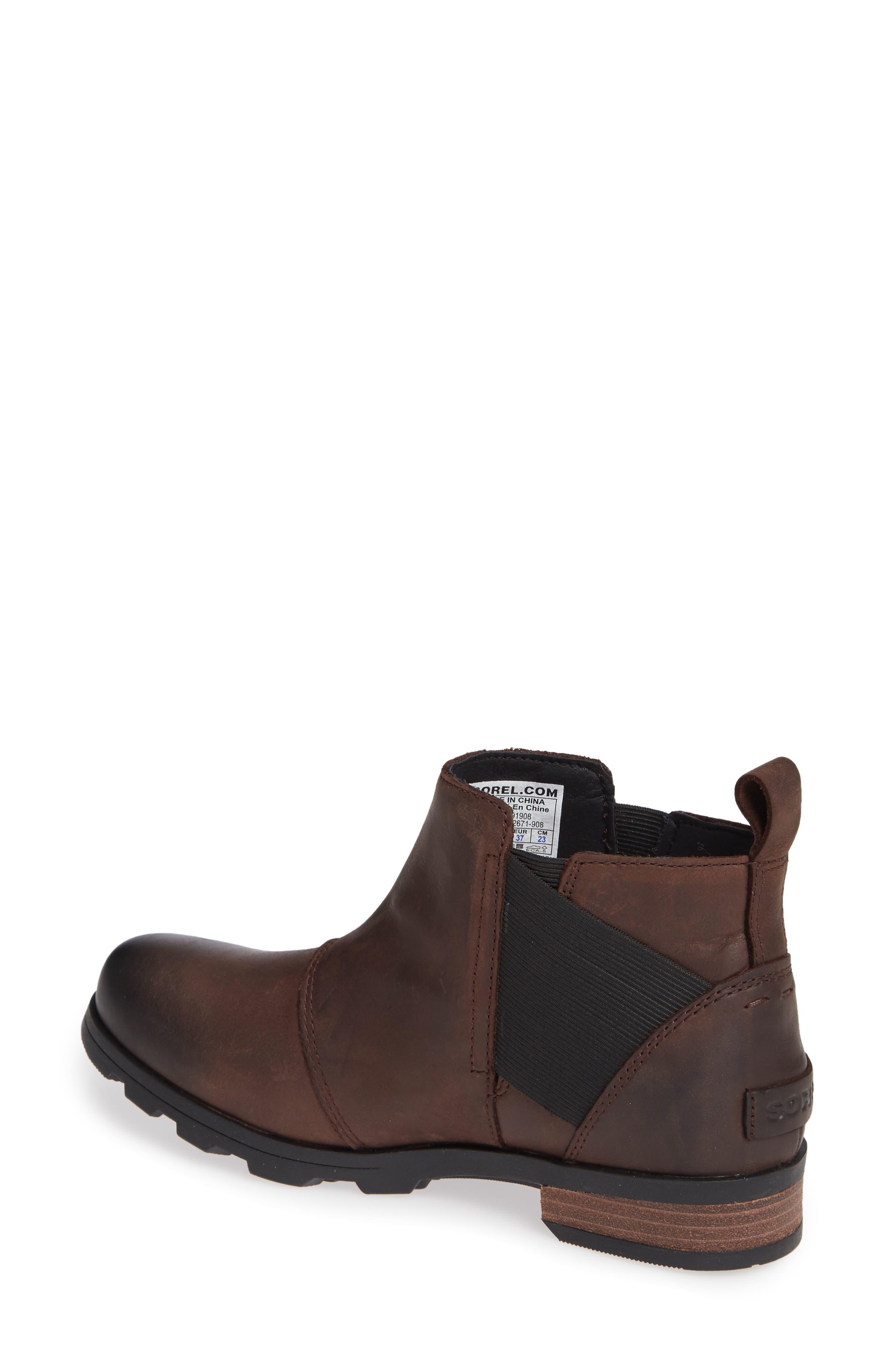 Emelie Waterproof Chelsea Boot,                             Alternate thumbnail 6, color,