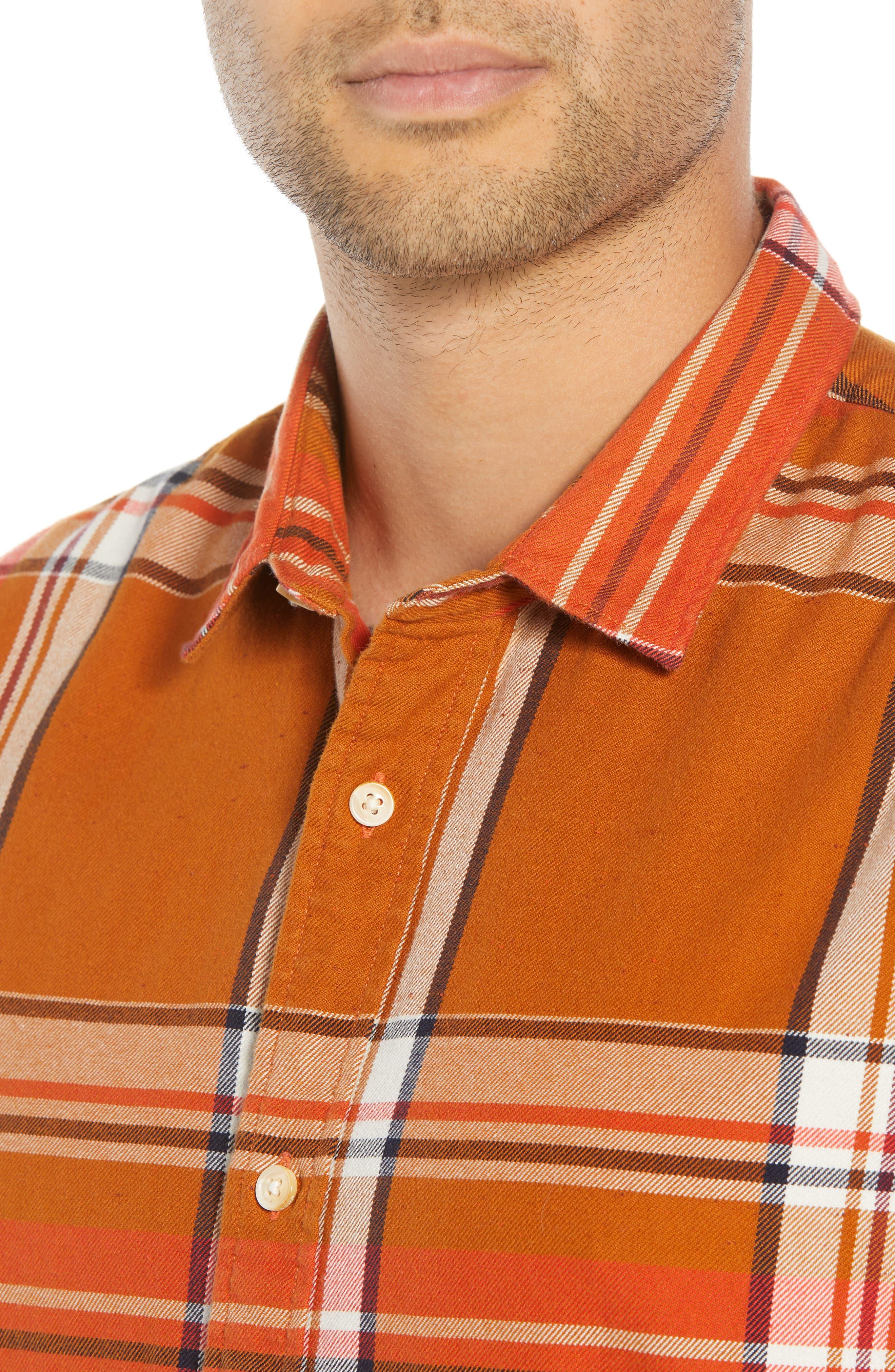 Plaid Flannel Shirt,                             Alternate thumbnail 2, color,                             COMBO A