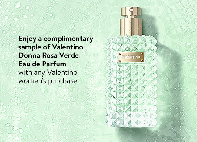 Valentino gift with purchase.