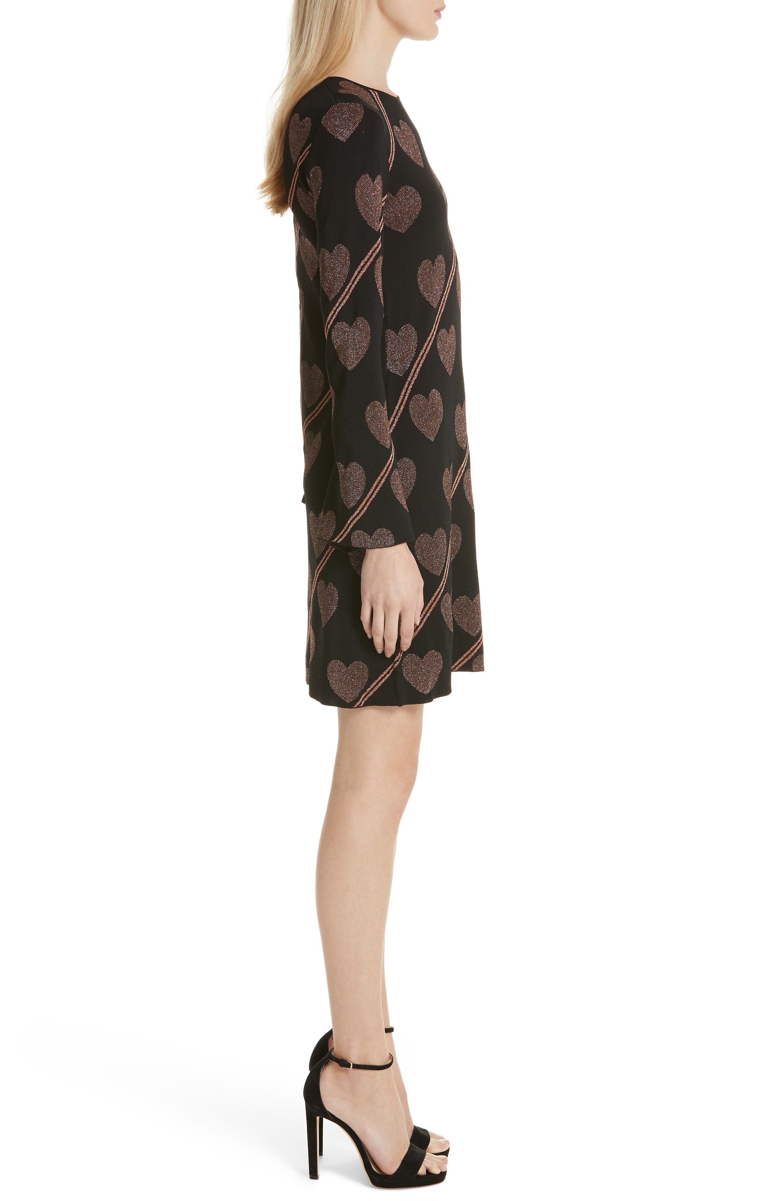 Uzeniaa Joyous Sweater Dress,                             Alternate thumbnail 3, color,                             BLACK