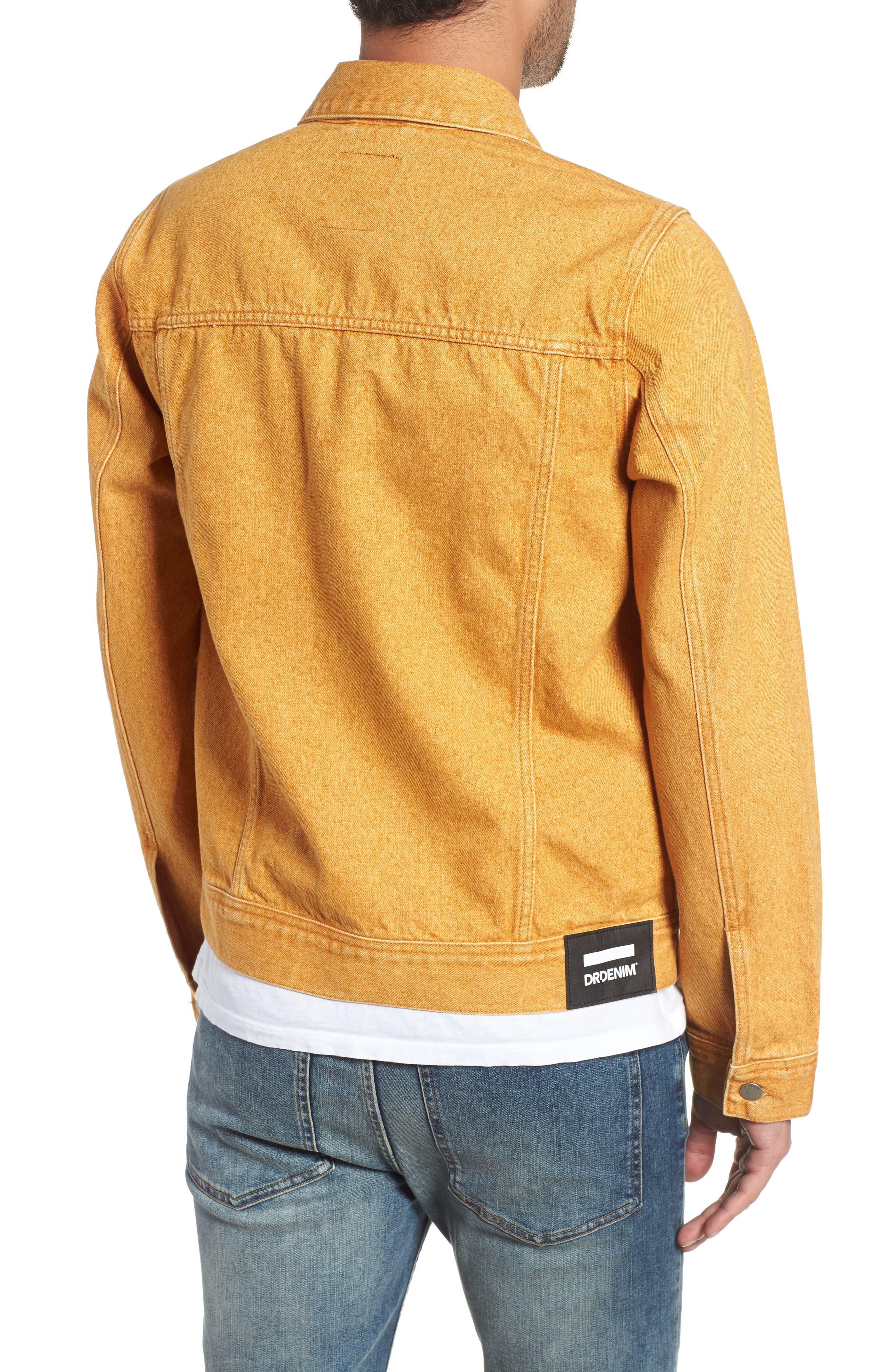 Dwight Denim Jacket,                             Alternate thumbnail 2, color,                             DUSTY GOLD