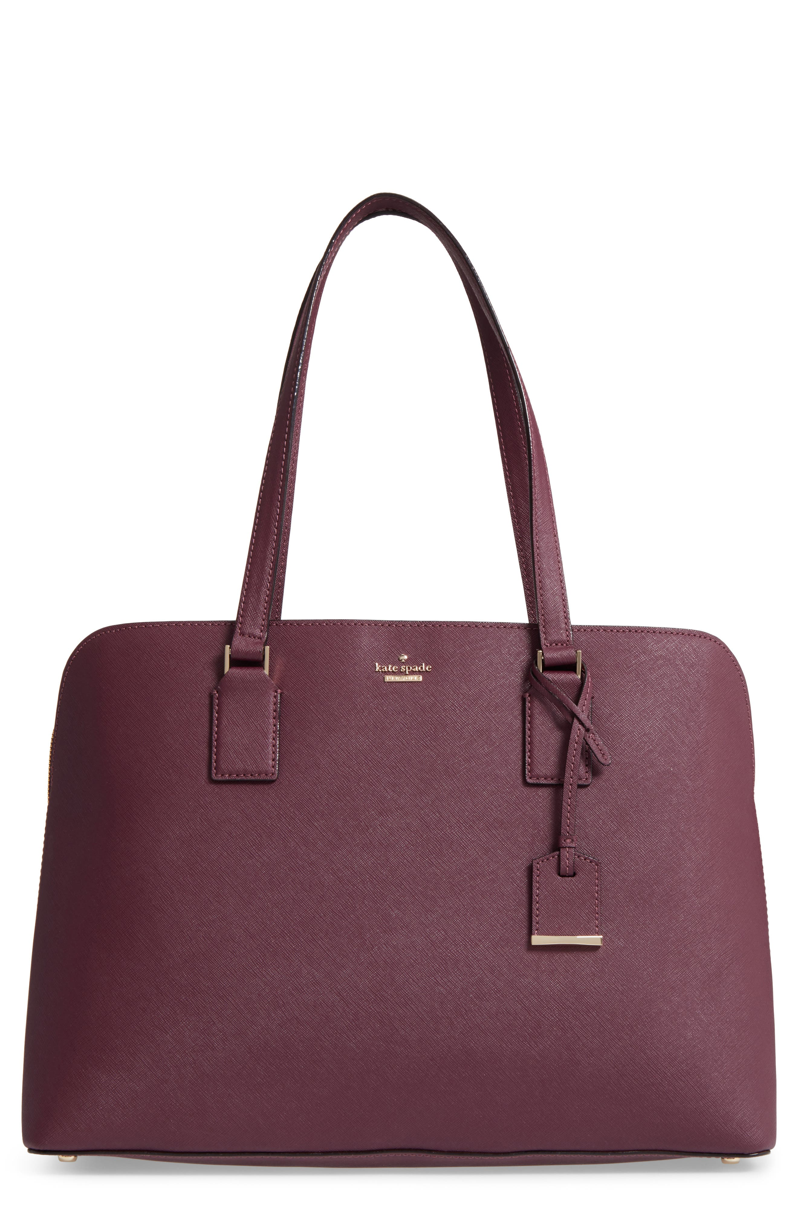 cameron street - marybeth leather tote,                             Main thumbnail 1, color,                             513