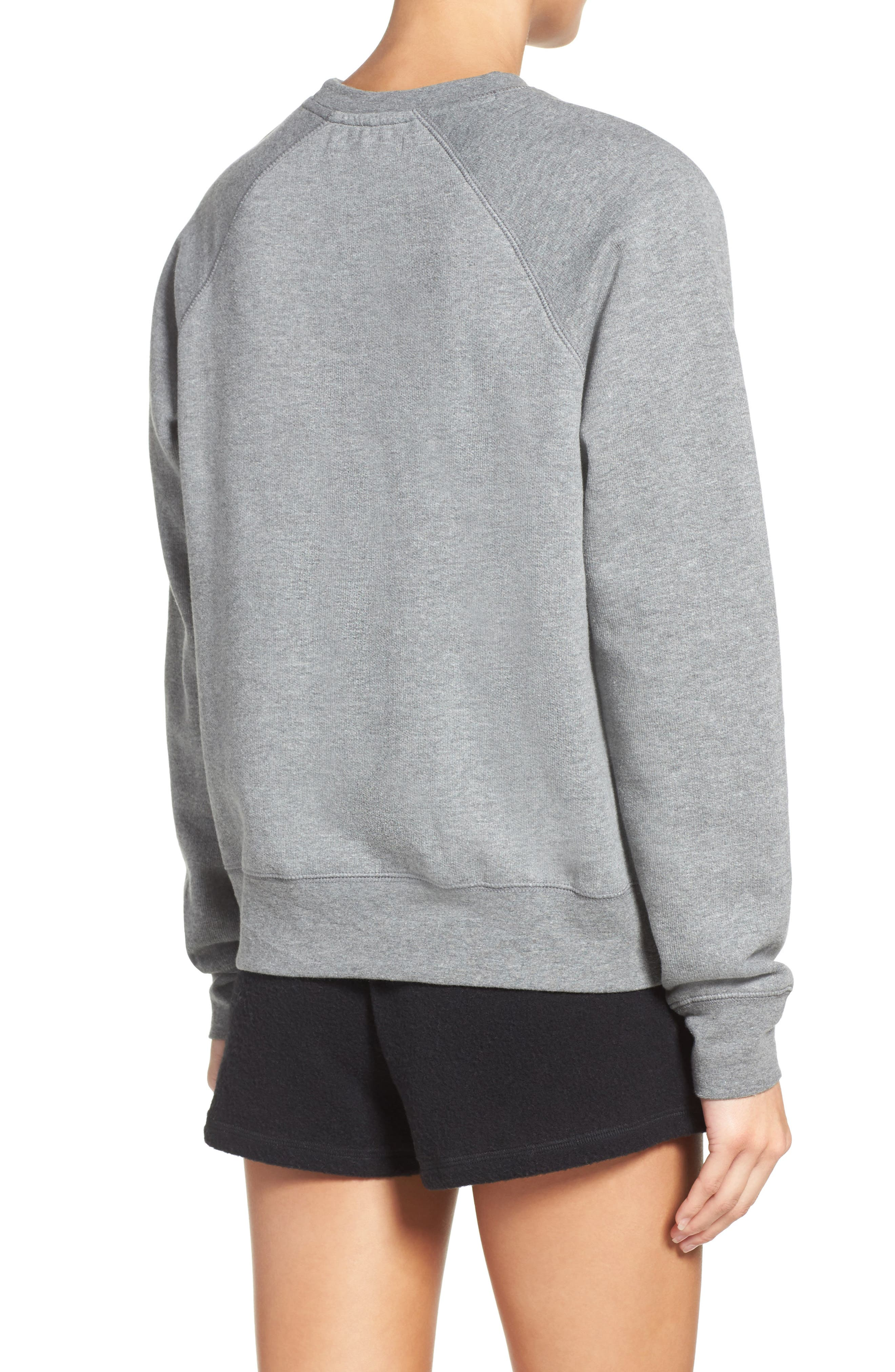 Blonde Crewneck Sweatshirt,                             Alternate thumbnail 2, color,                             030