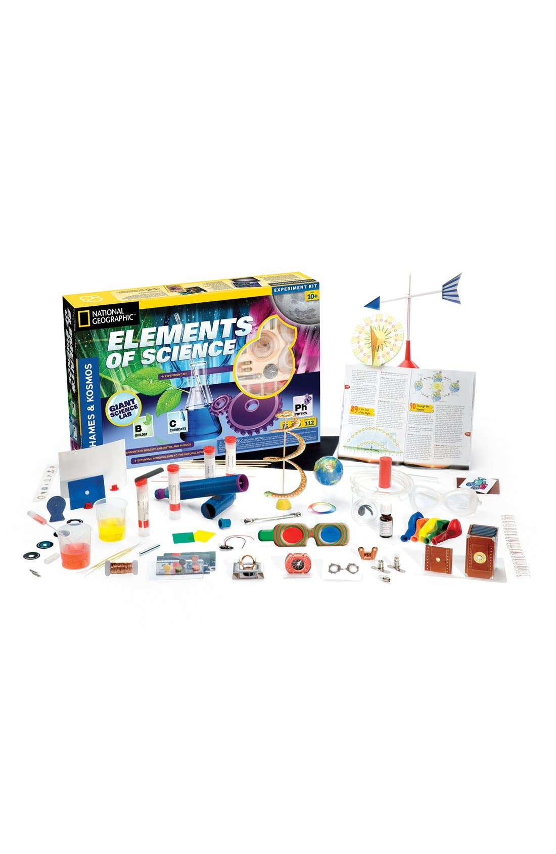 'Elements of Science' Experiment Kit,                             Main thumbnail 1, color,                             NO COLOR