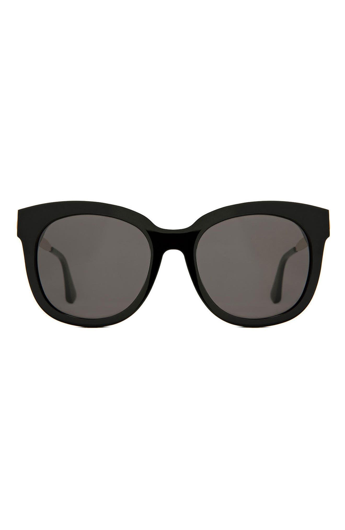 Cuba 55mm Sunglasses,                             Main thumbnail 1, color,                             001