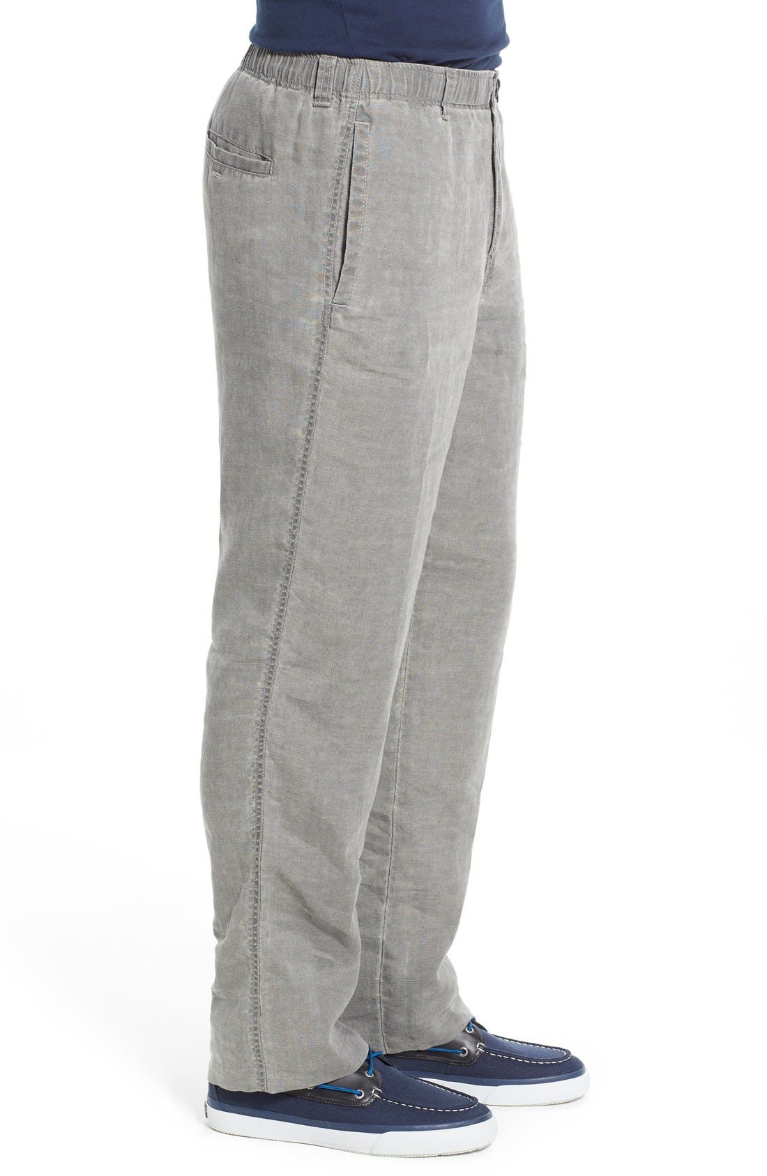 'New Linen on the Beach' Easy Fit Pants,                             Alternate thumbnail 23, color,