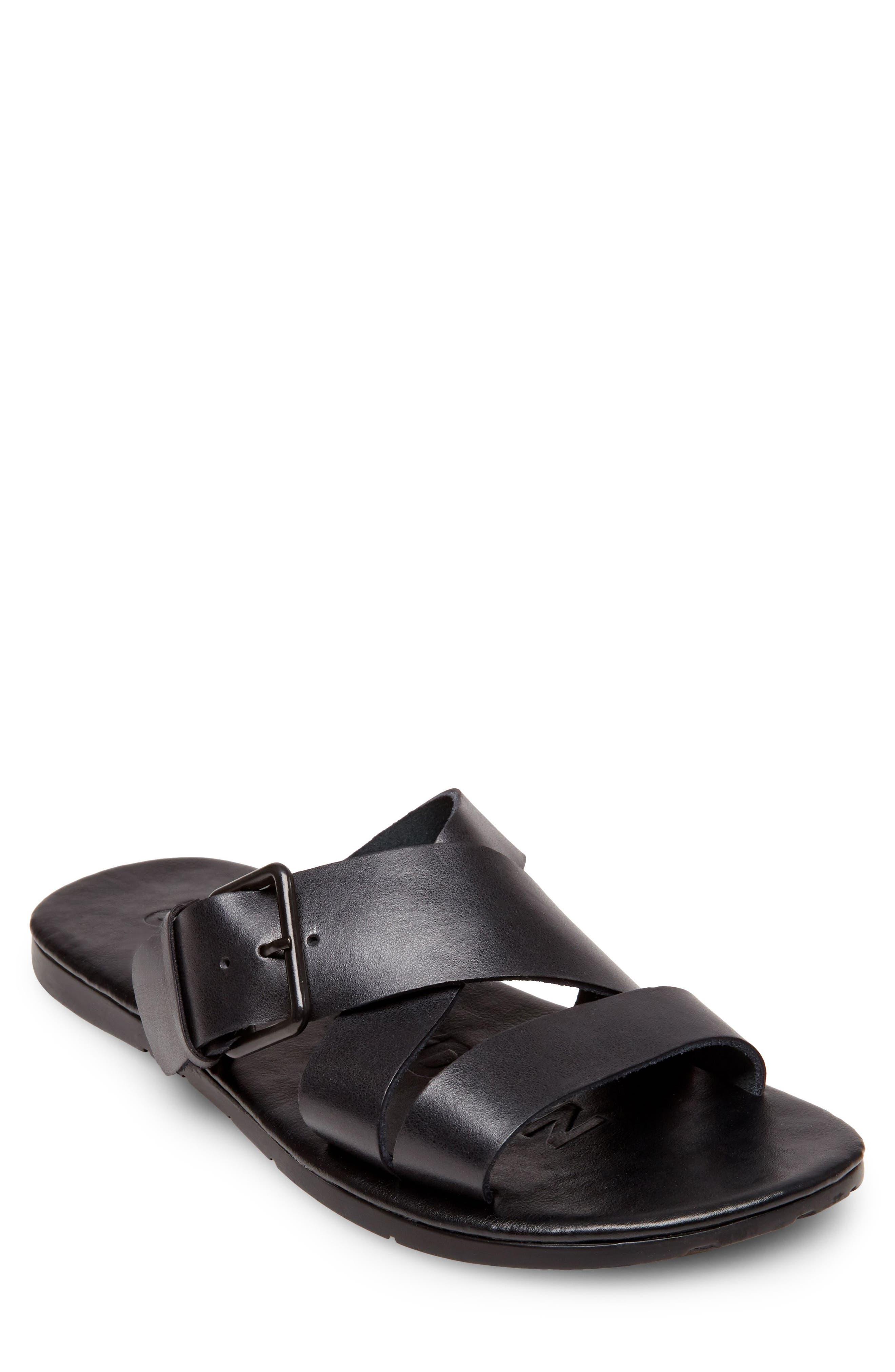 Suspense Buckled Slide Sandal,                         Main,                         color, 001