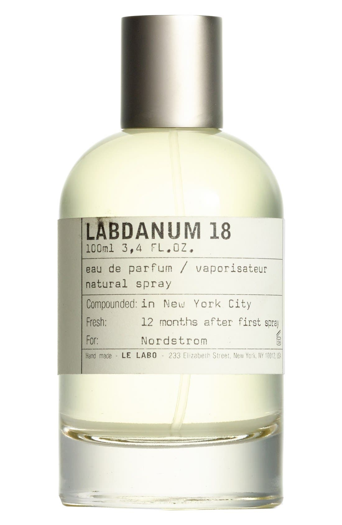 'Labdanum 18' Eau de Parfum,                             Main thumbnail 1, color,                             NO COLOR