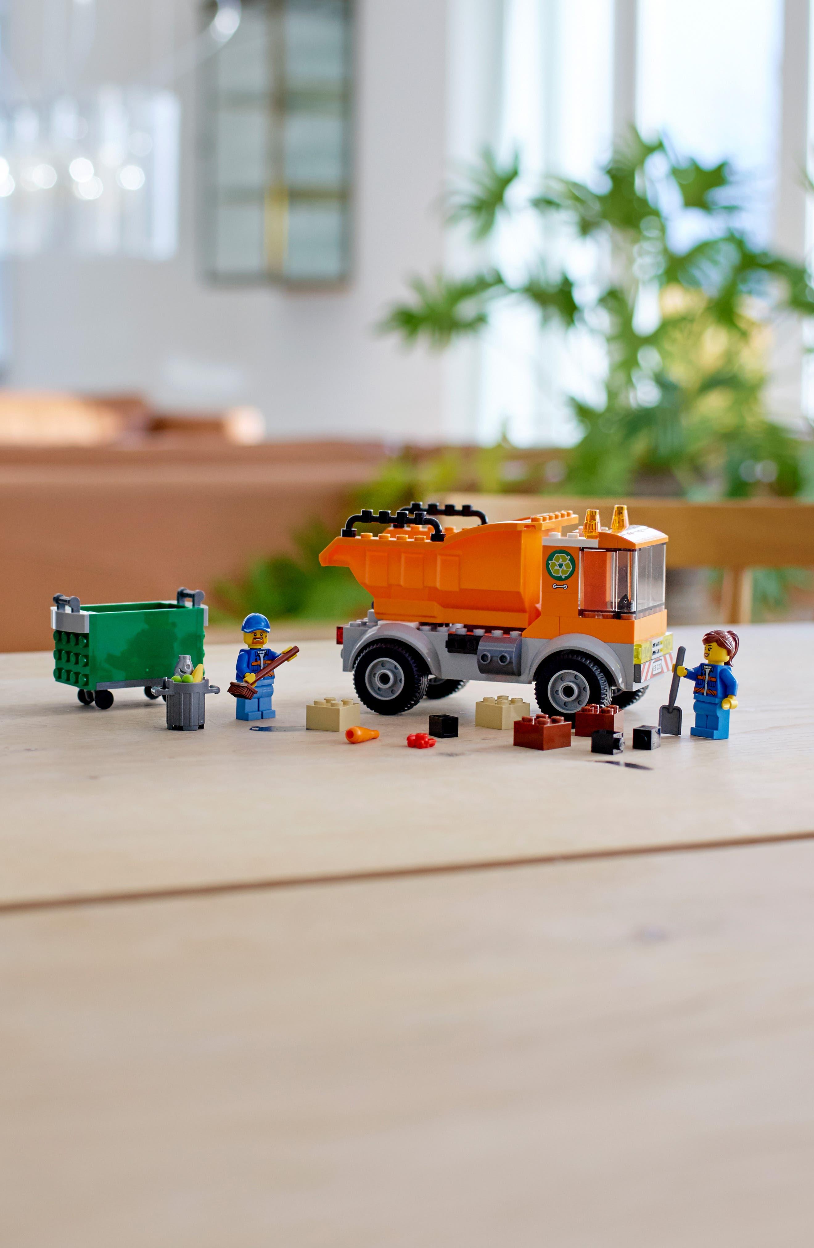 4+ City Garbage Truck - 60220,                             Alternate thumbnail 6, color,                             MULTI