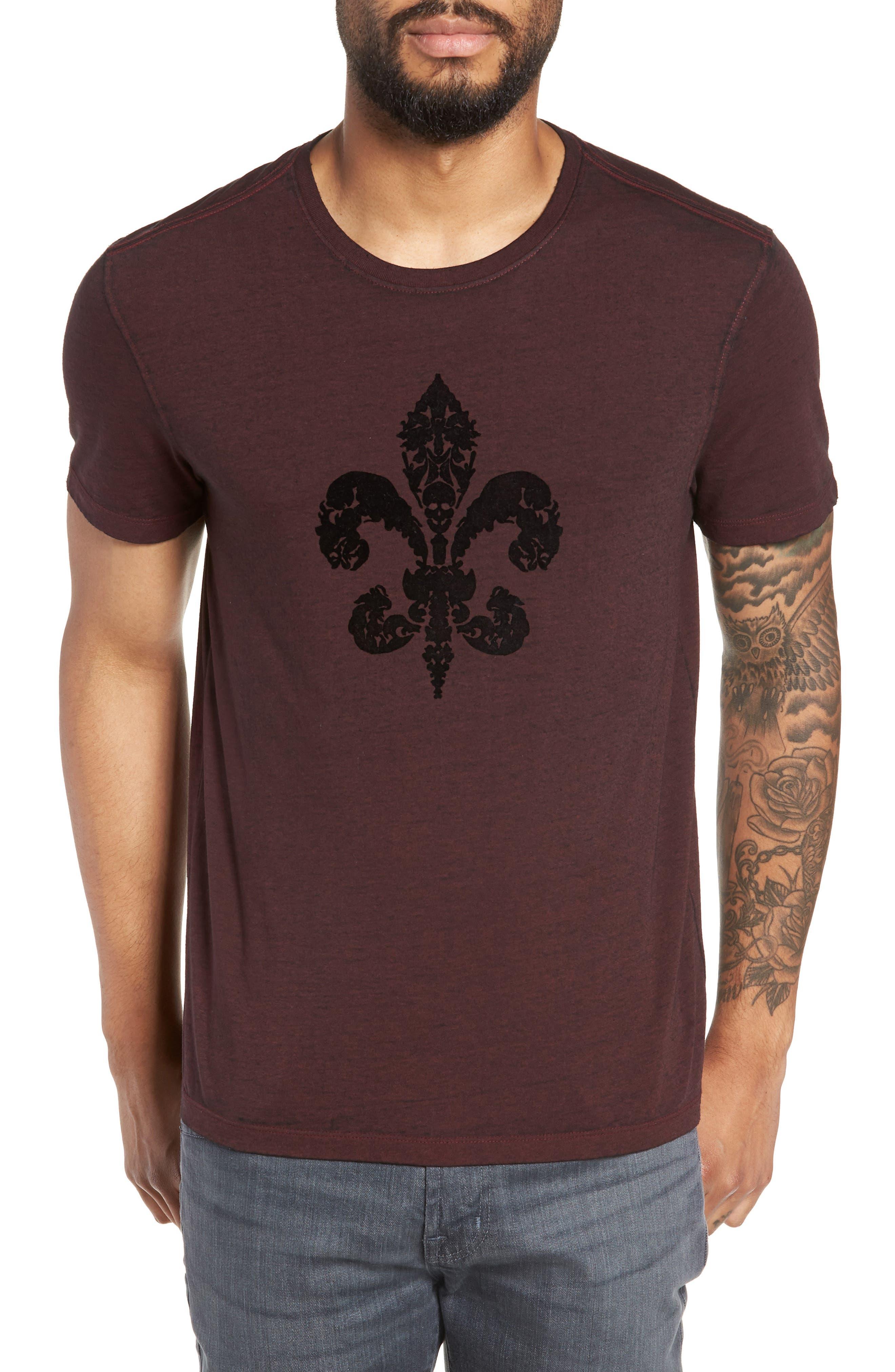 Fleur de Lis Graphic T-Shirt,                             Main thumbnail 1, color,                             930