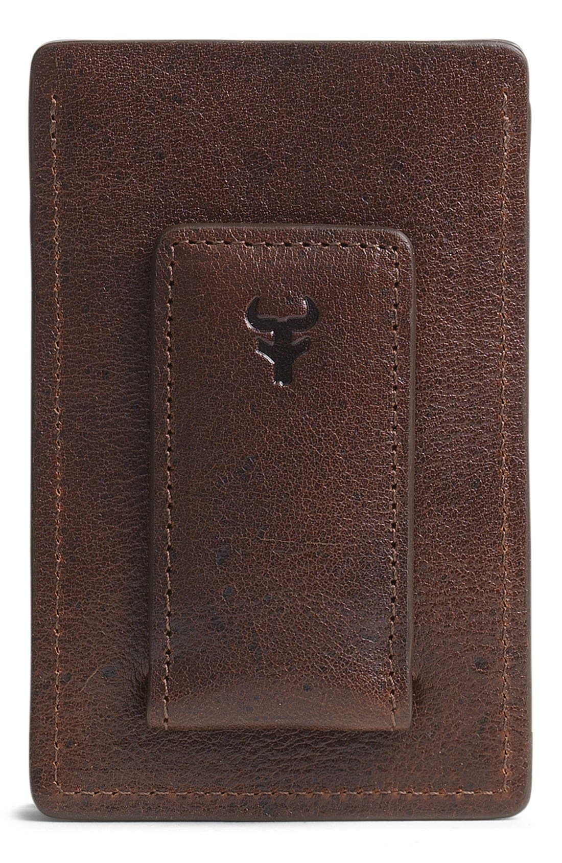 'Jackson' Money Clip Wallet,                             Alternate thumbnail 4, color,                             200