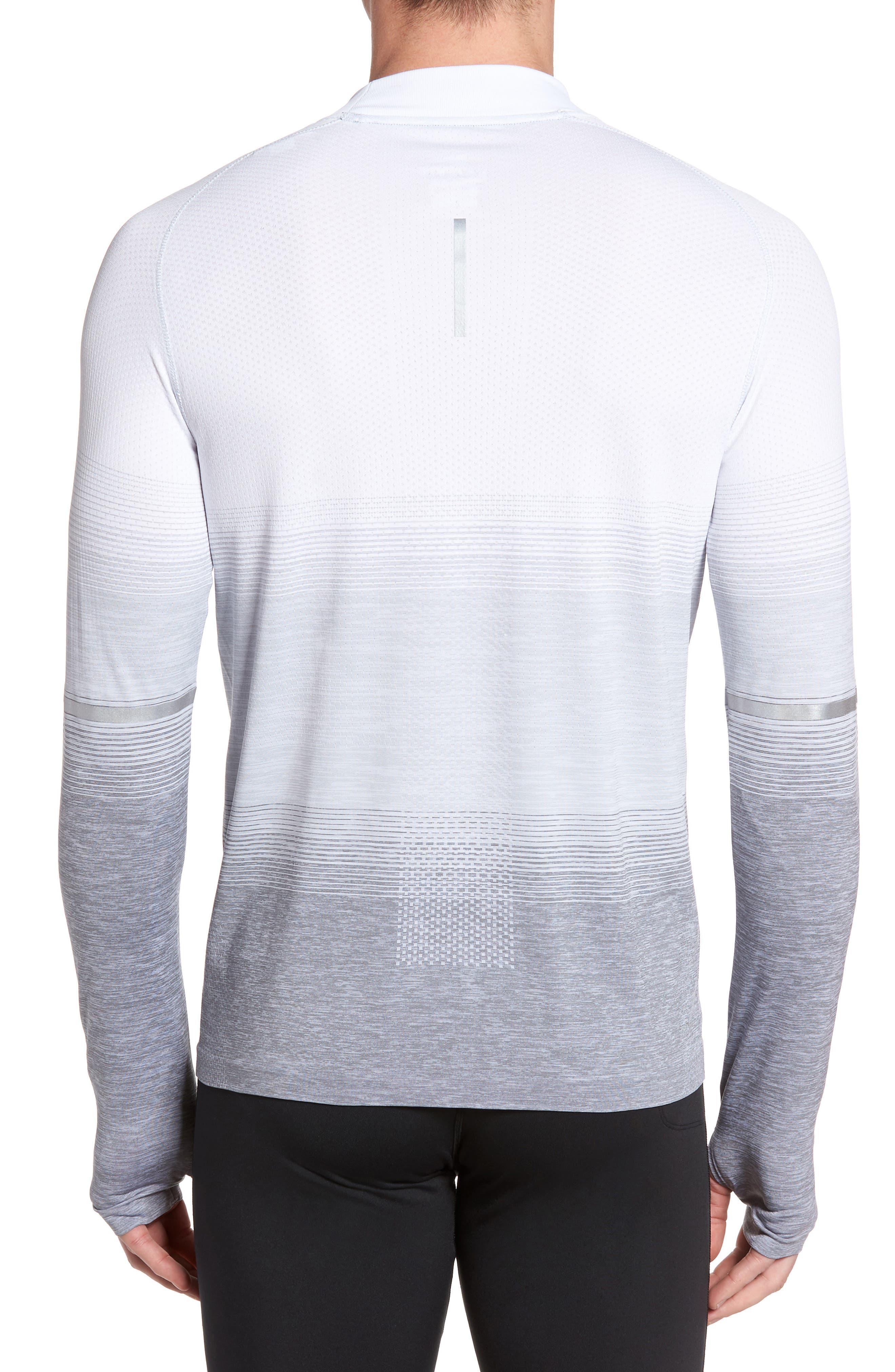 Dry Running Mock Neck Long Sleeve T-Shirt,                             Alternate thumbnail 2, color,                             053