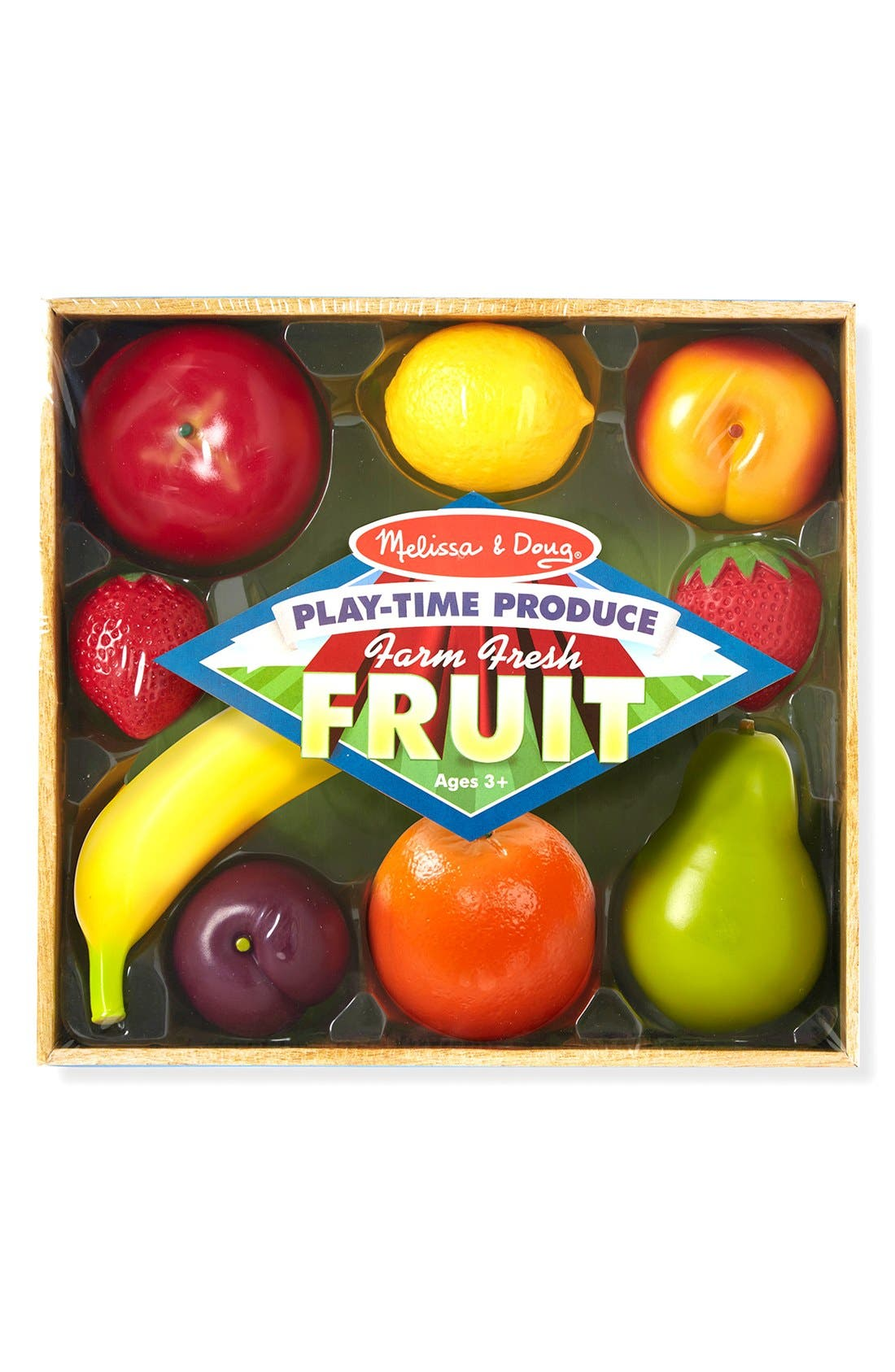 'Play-Time Produce Fruit and Vegetables' Play Food,                             Alternate thumbnail 2, color,                             MULTI