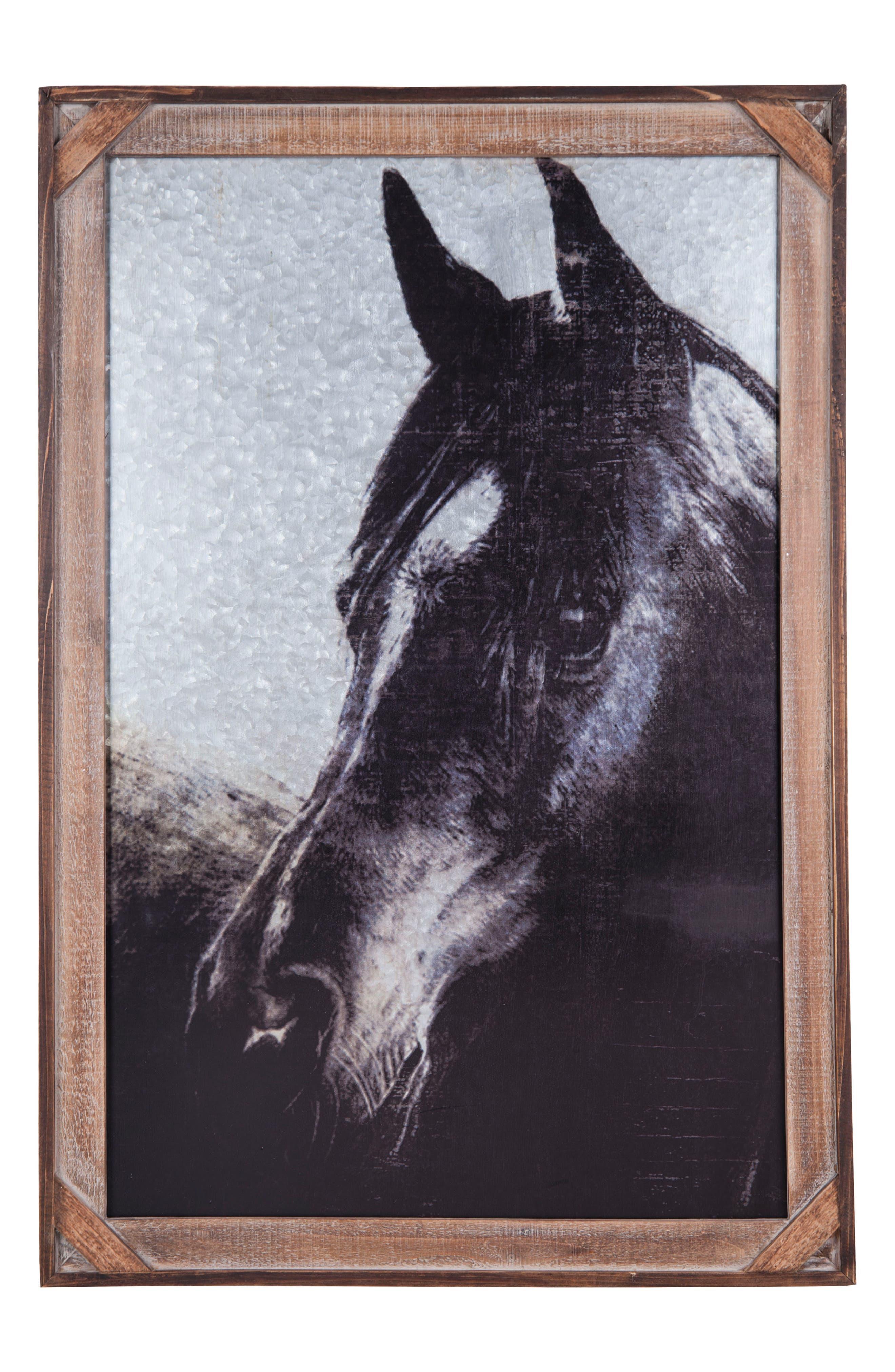 Horse Wall Art,                             Main thumbnail 1, color,