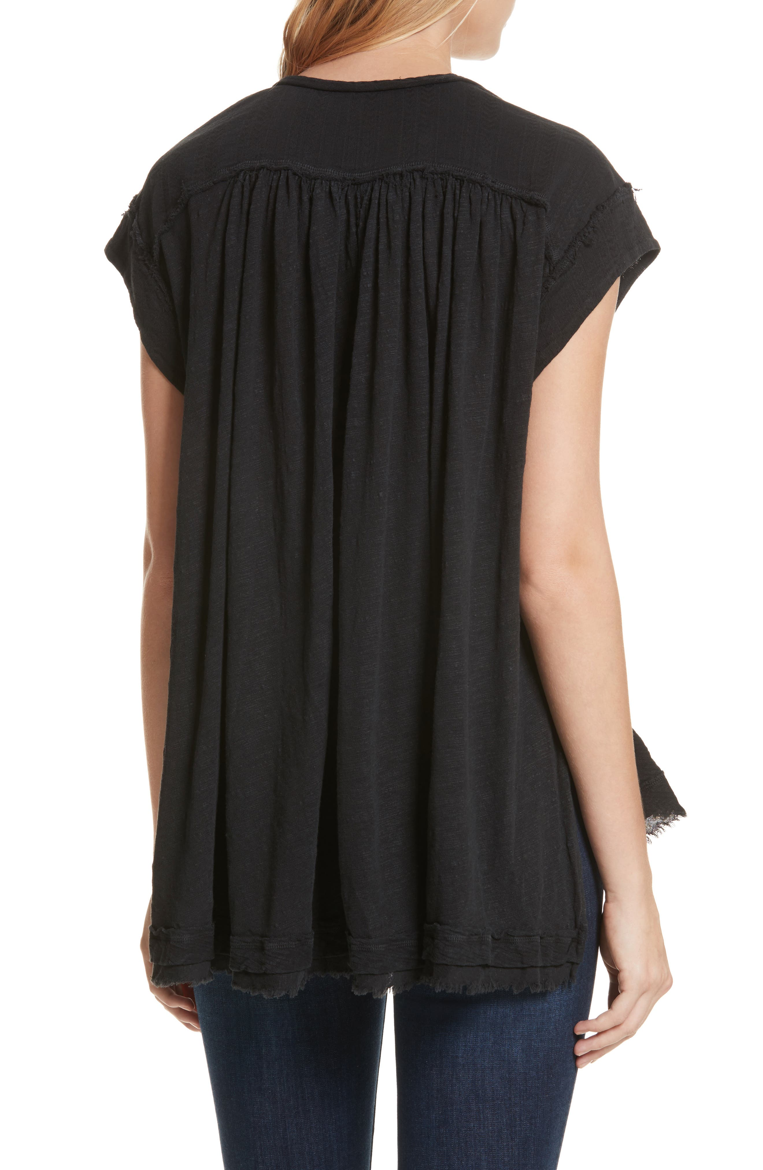 We the Free by Free People Aster Henley Top,                             Alternate thumbnail 2, color,                             001
