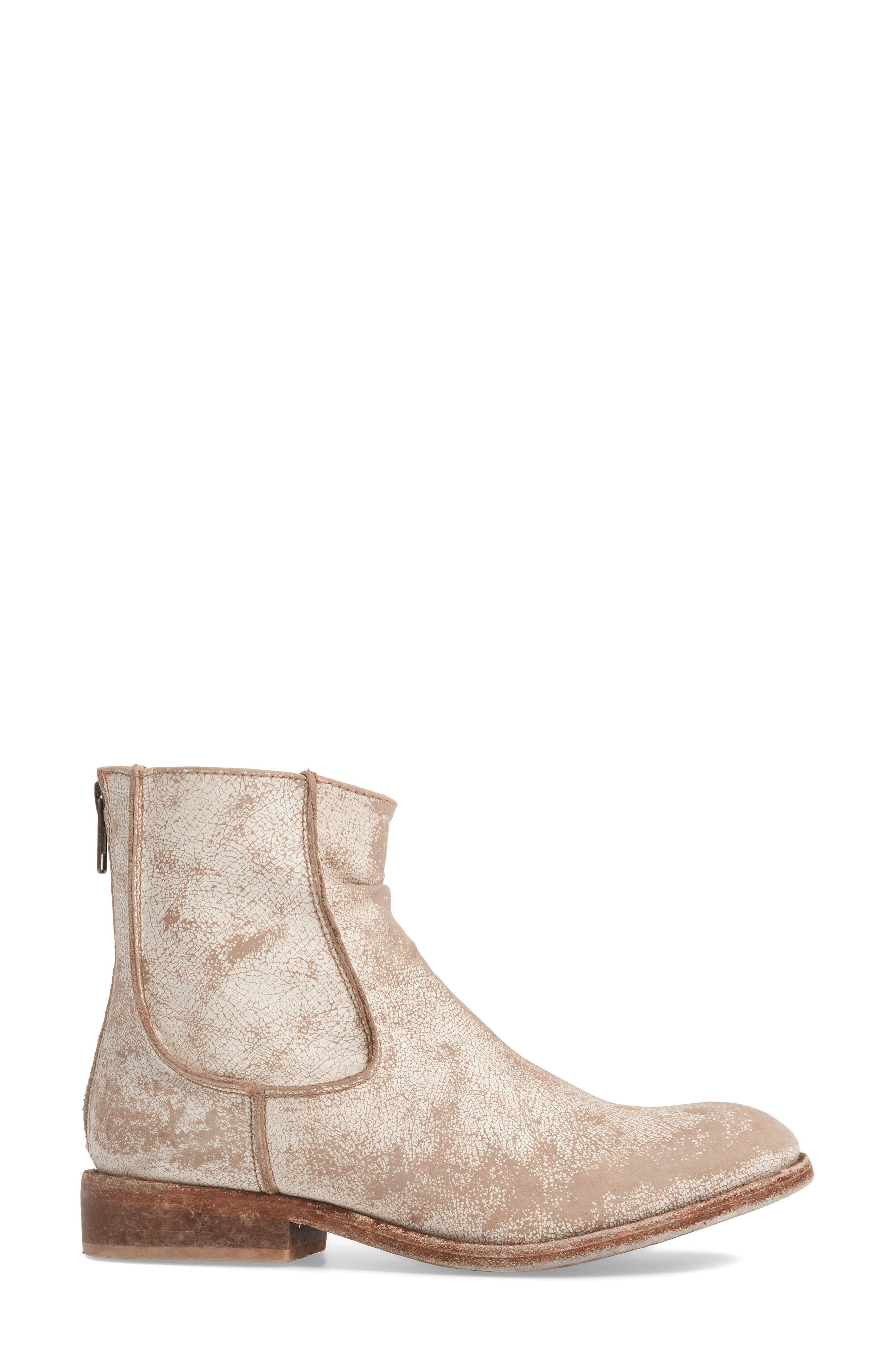 'Gerald' Distressed Bootie,                             Alternate thumbnail 8, color,