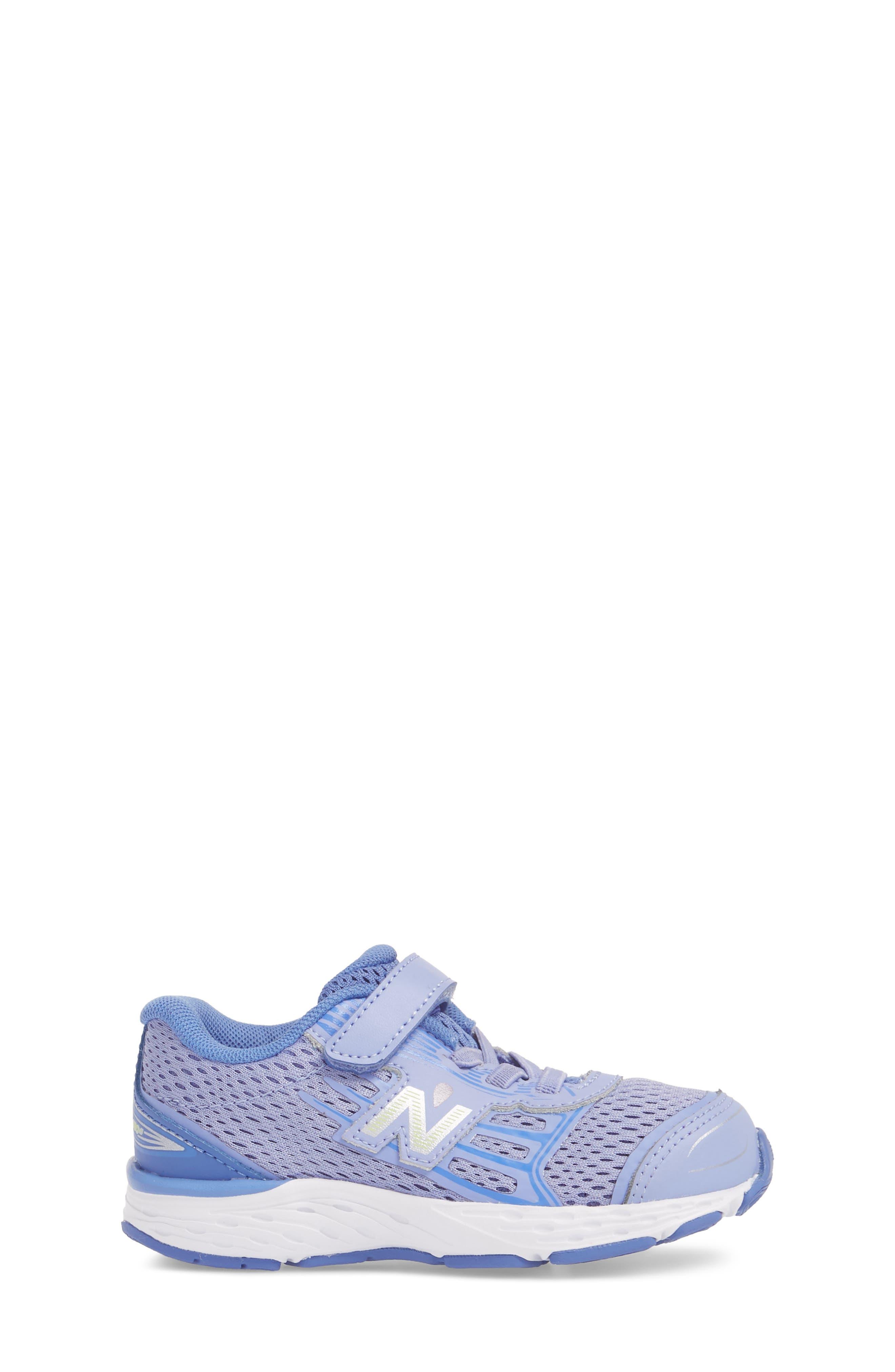 680v5 Sneaker,                             Alternate thumbnail 3, color,                             ICE VIOLET
