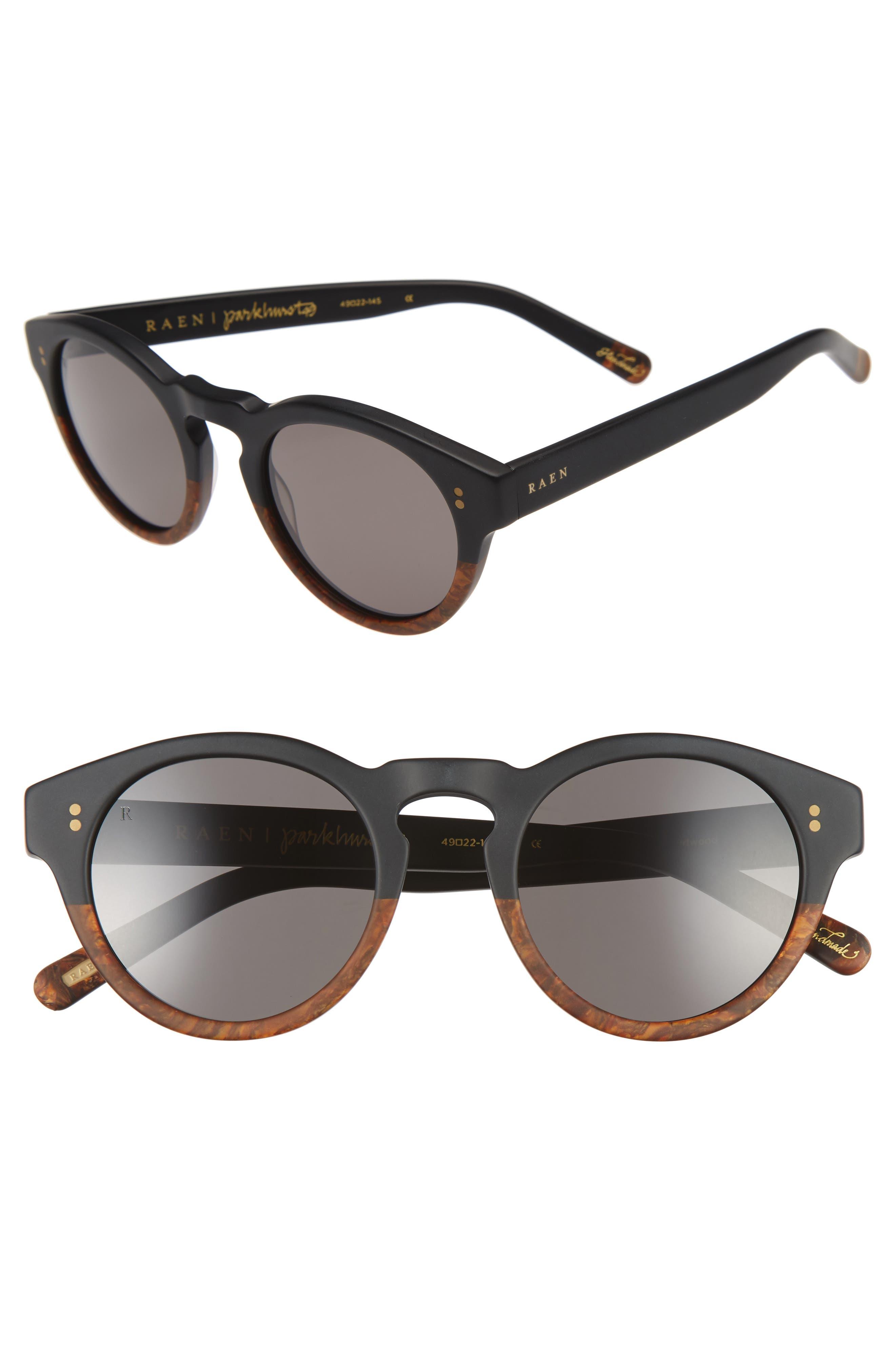 Parkhurst 49mm Sunglasses,                         Main,                         color, 001
