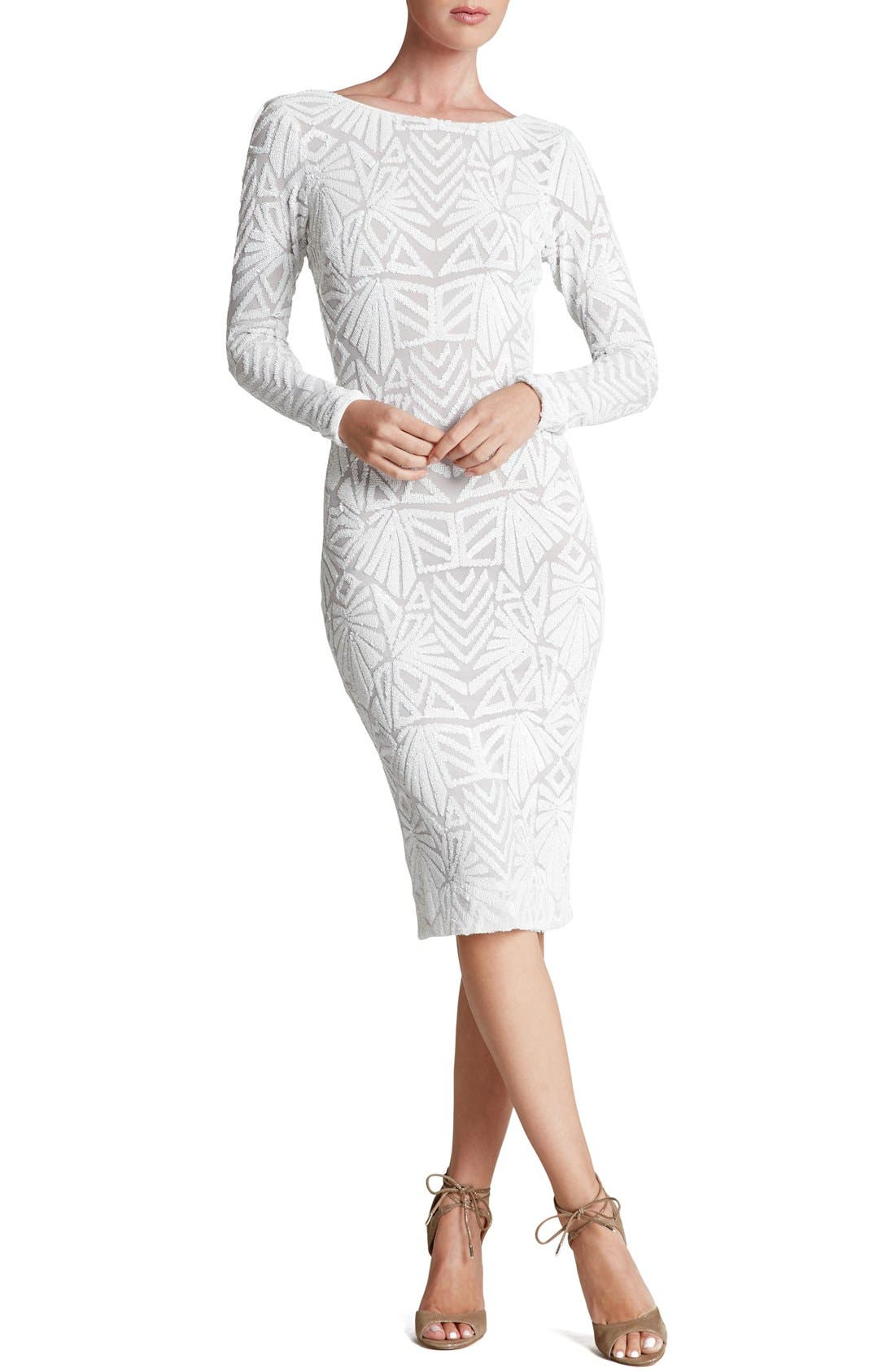 Emery Midi Dress,                             Main thumbnail 2, color,