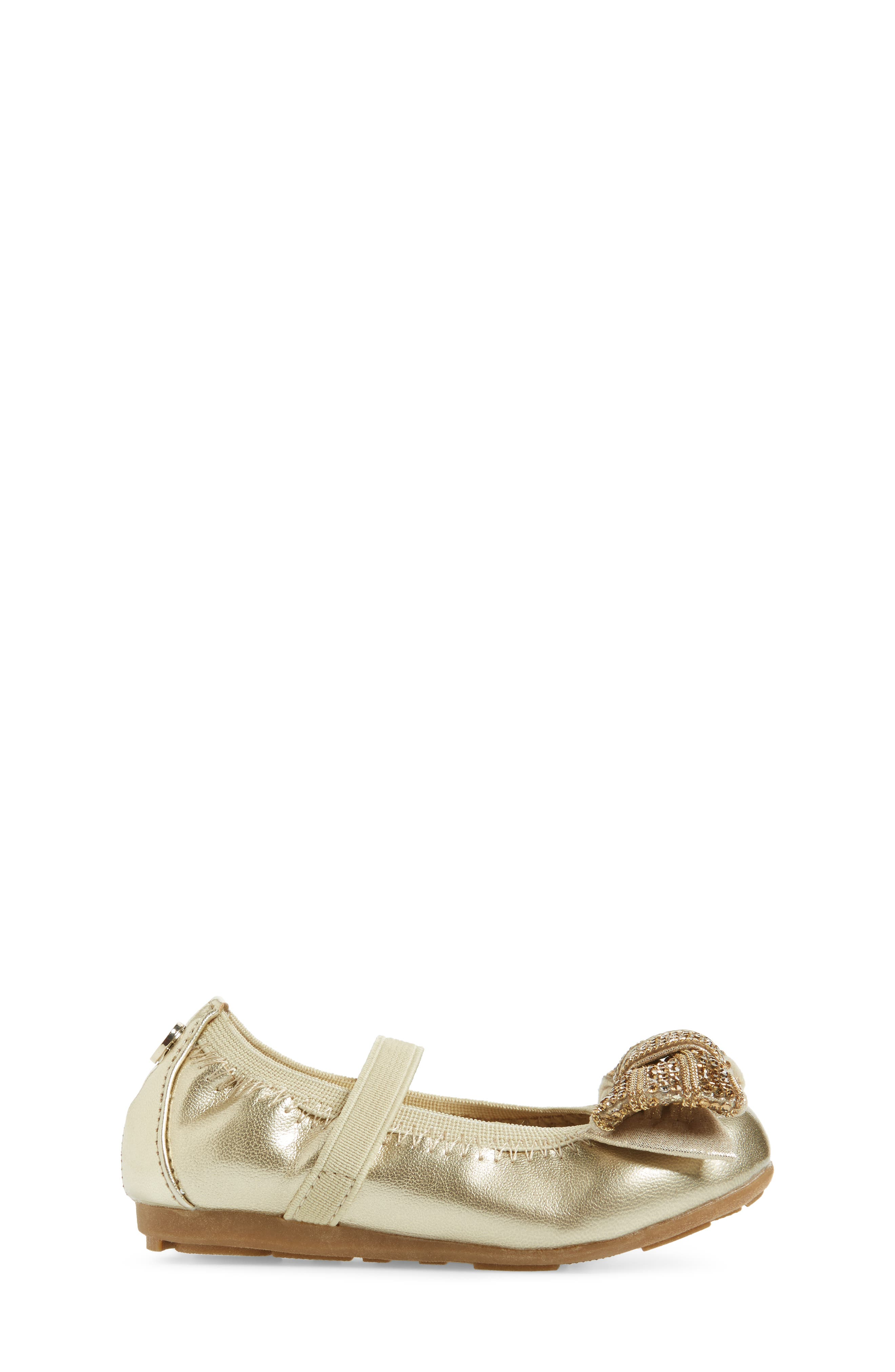 Fannie Embellished Bow Mary Jane Flat,                             Alternate thumbnail 9, color,