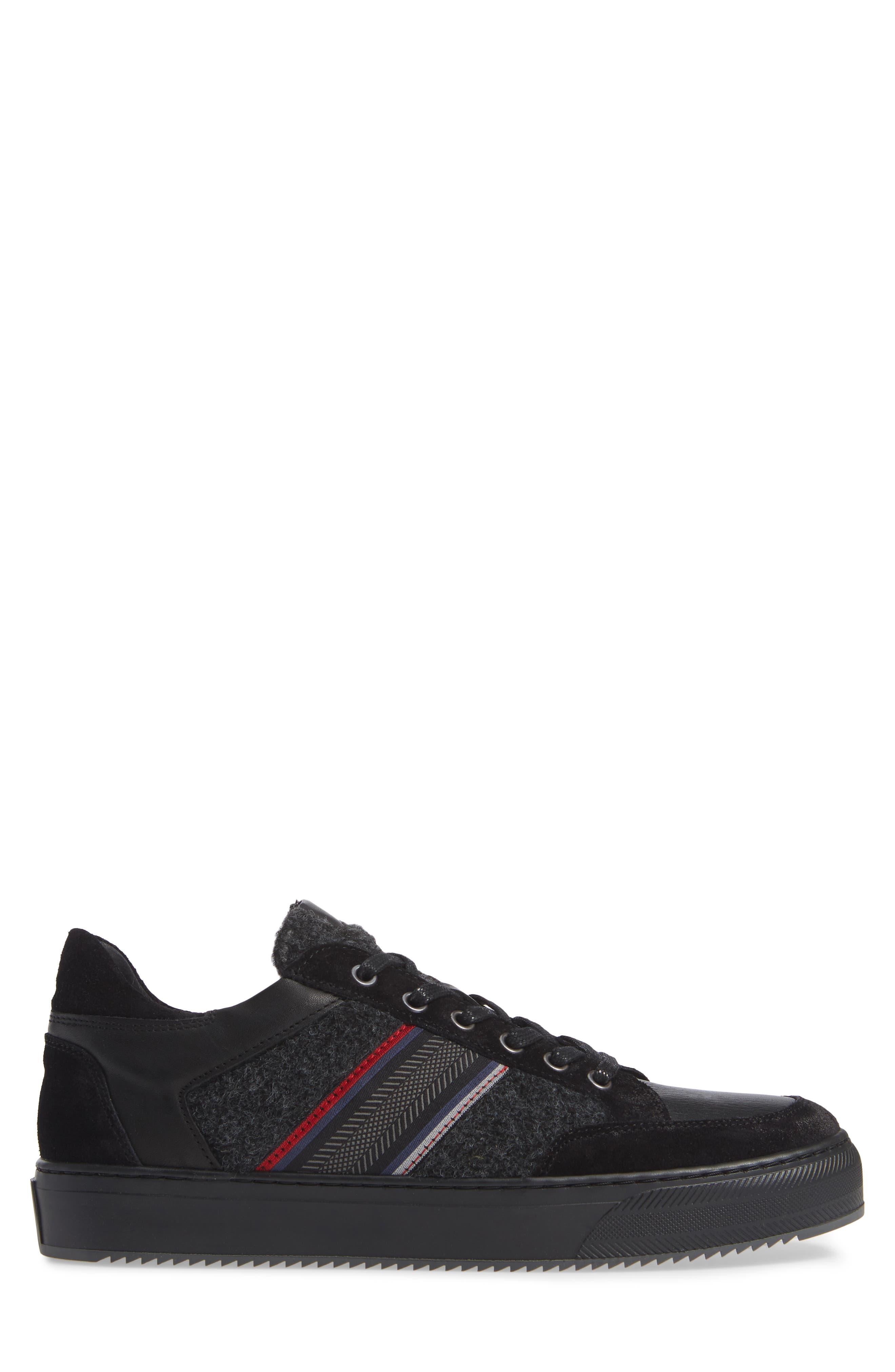 Poggio Sneaker,                             Alternate thumbnail 3, color,                             BLACK