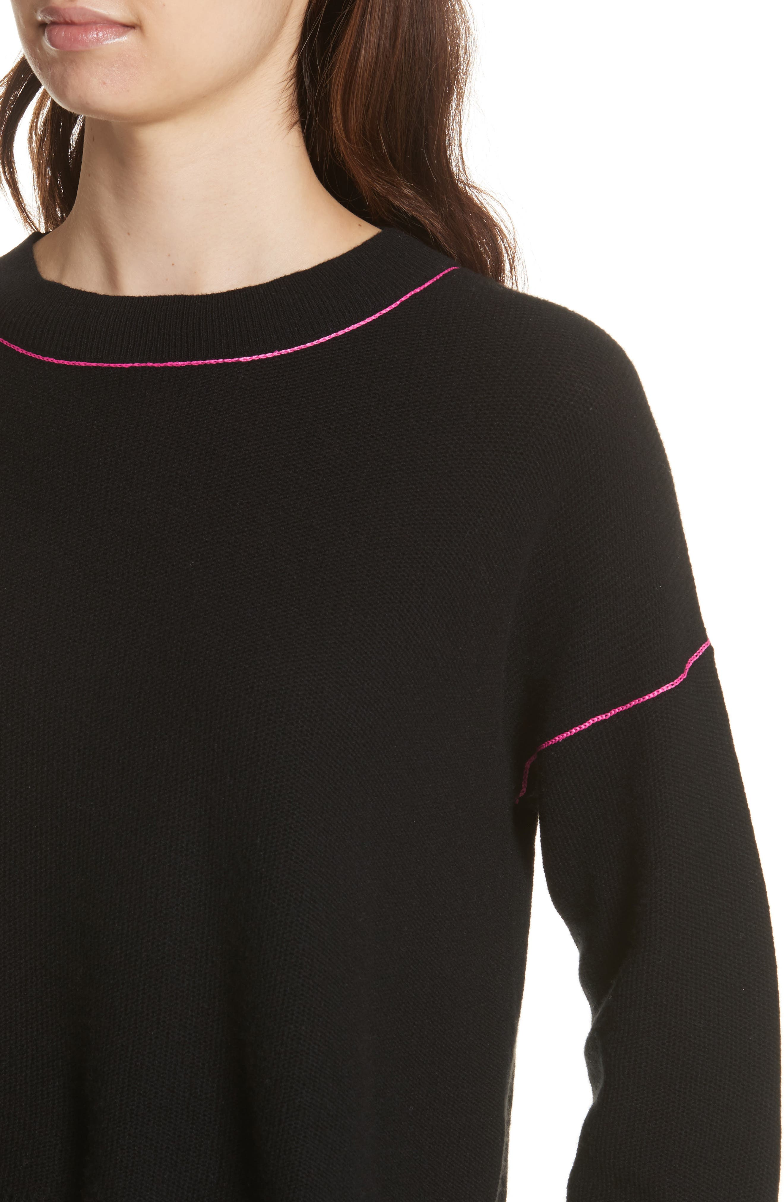 Benin Wool & Cashmere Sweater,                             Alternate thumbnail 4, color,