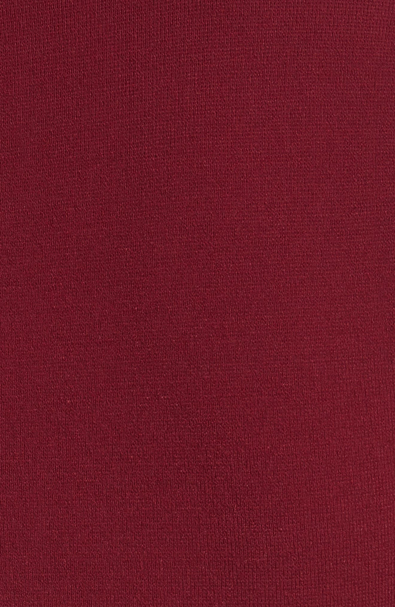 Knit Bell Sleeve Dress,                             Alternate thumbnail 5, color,