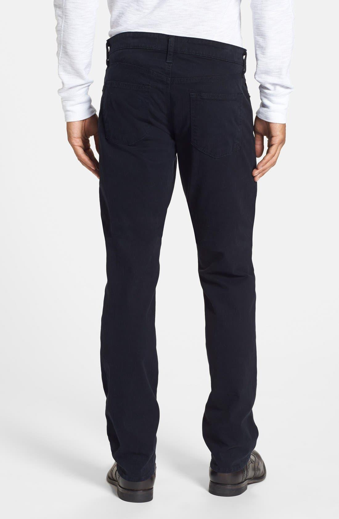'Kane' Slim Fit Cotton Twill Pants,                             Alternate thumbnail 68, color,