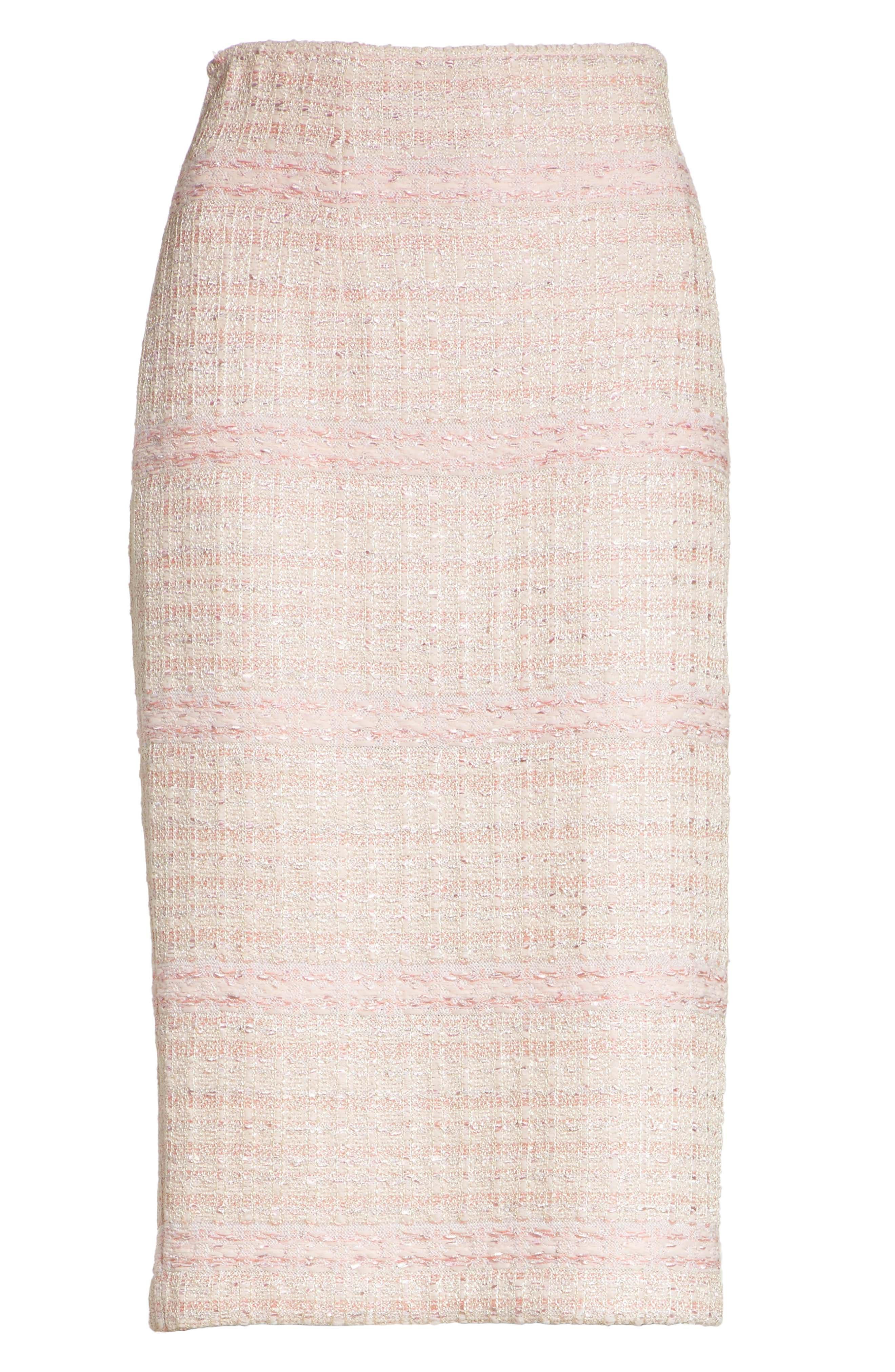 Guilded Pastel Knit Skirt,                             Alternate thumbnail 6, color,                             660