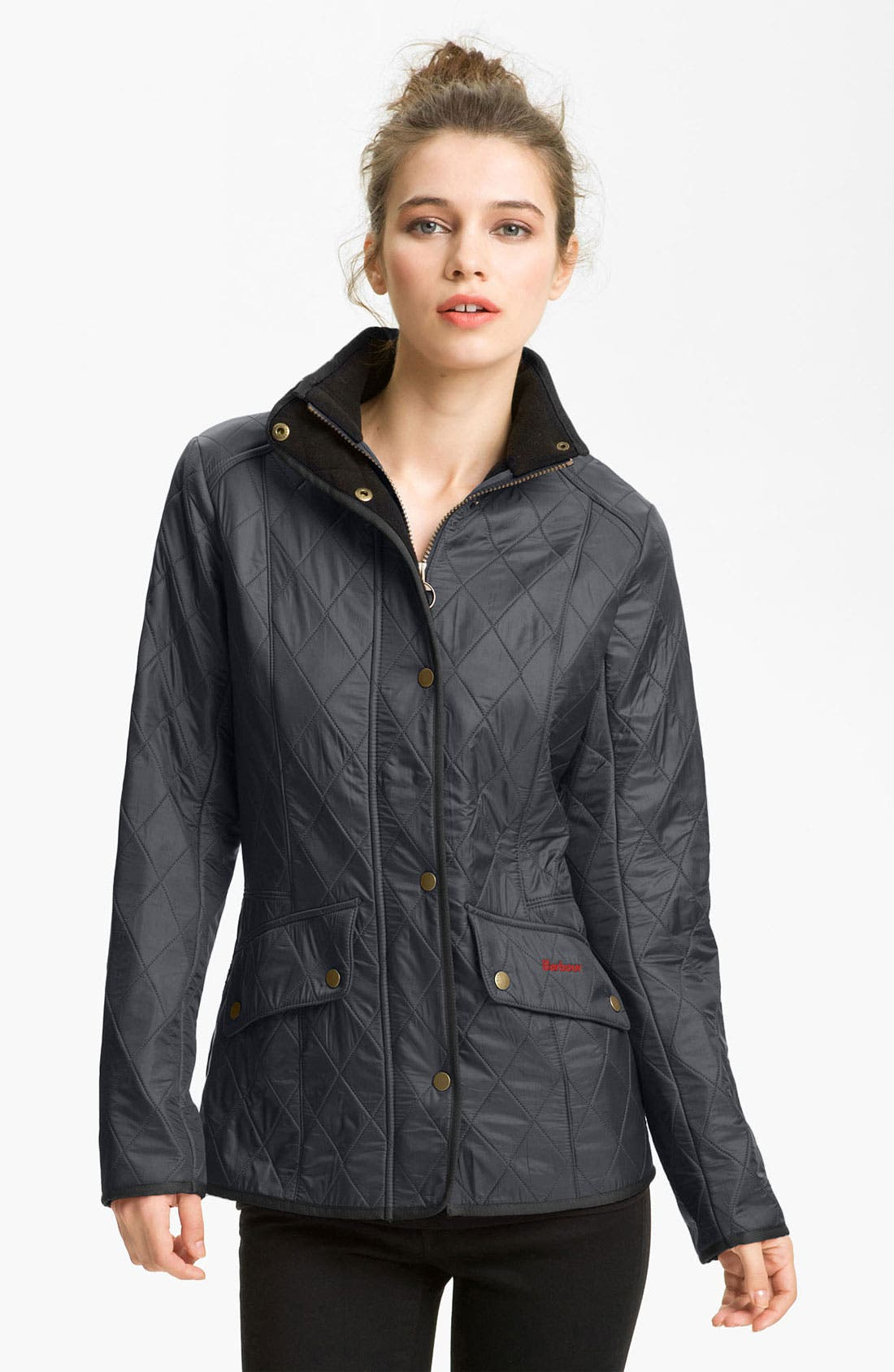 'Cavalry' Quilted Jacket,                             Main thumbnail 4, color,