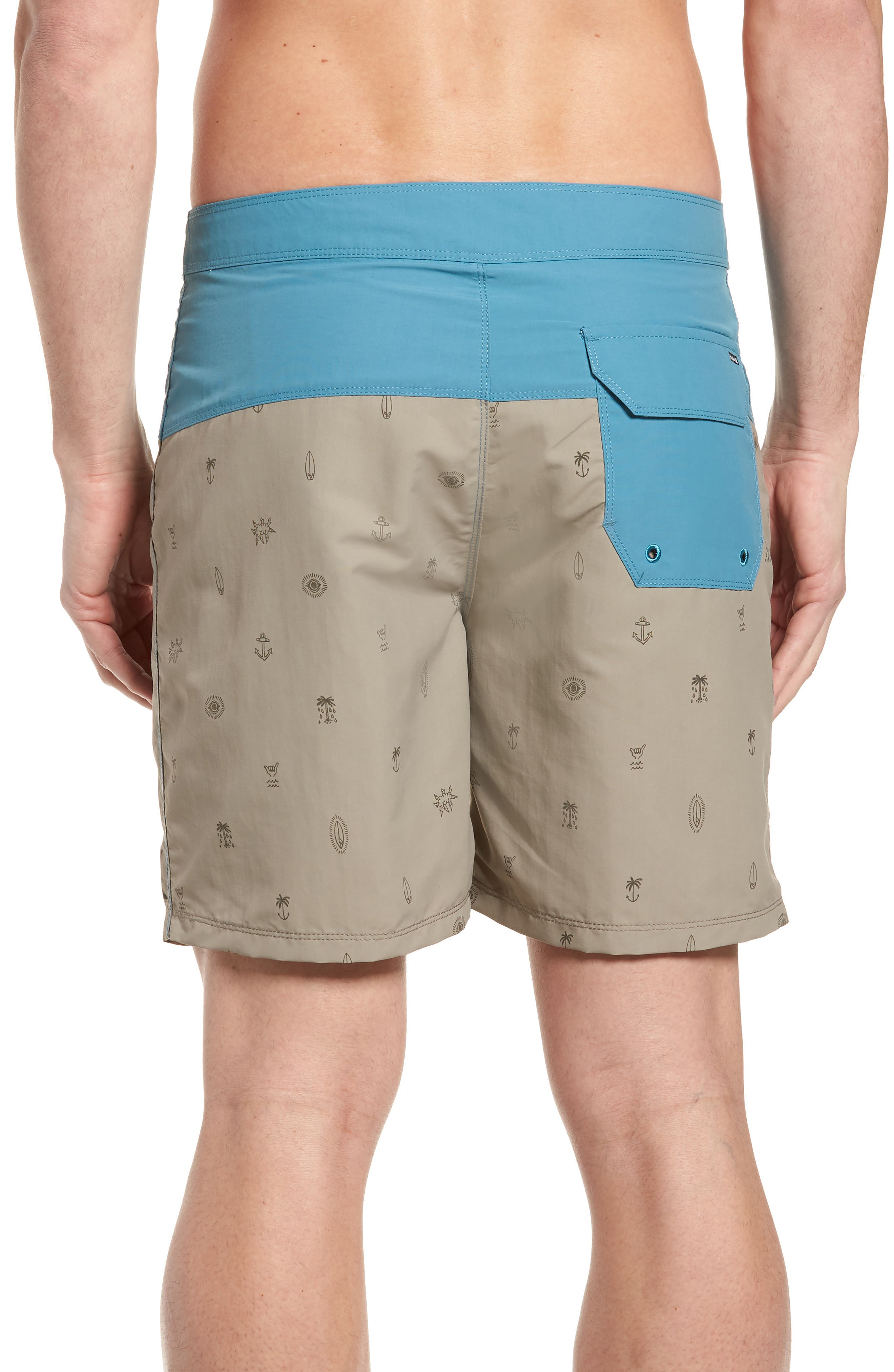 School Yards Board Shorts,                             Alternate thumbnail 4, color,