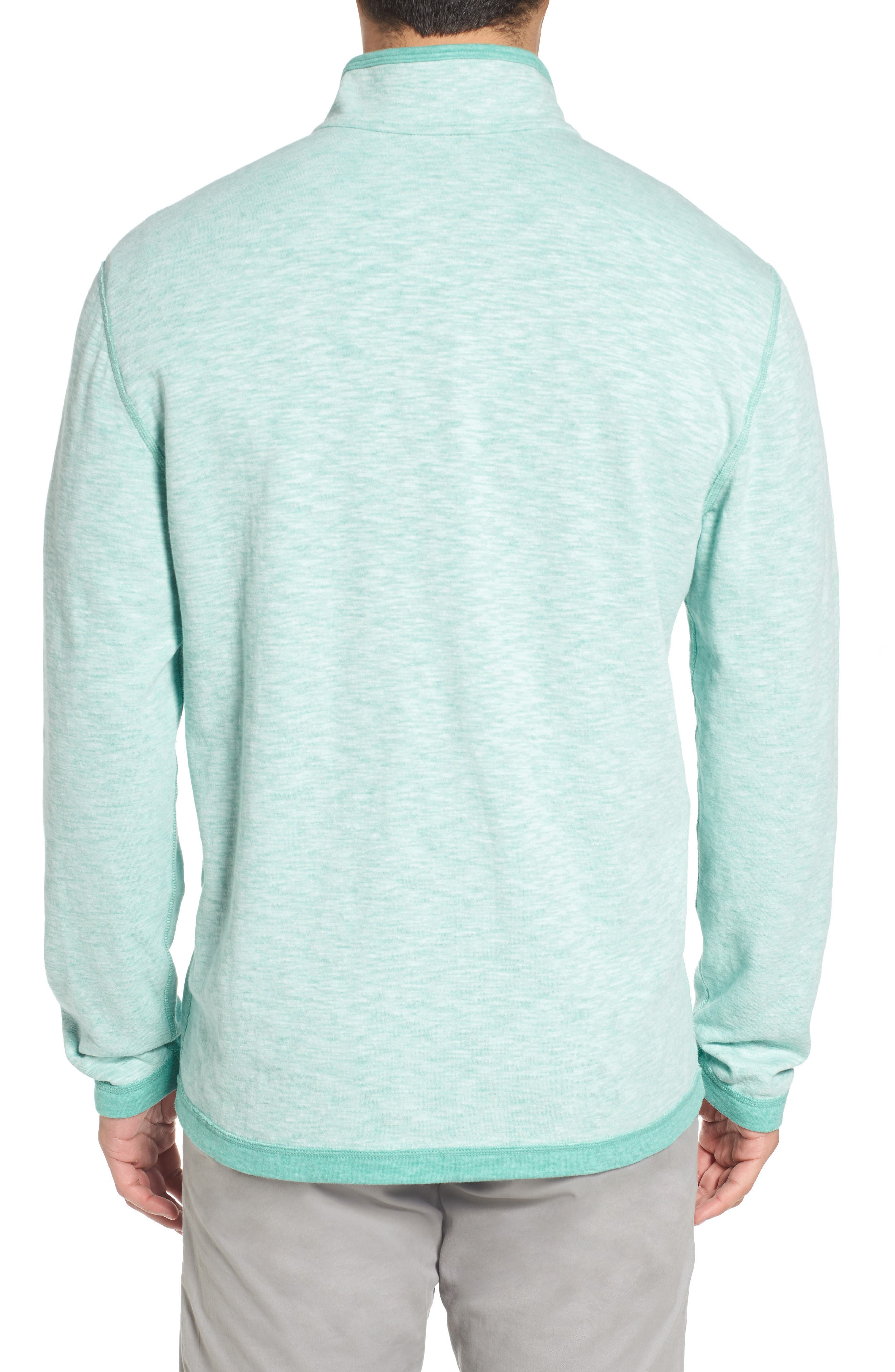 Sea Glass Reversible Quarter Zip Pullover,                             Alternate thumbnail 20, color,