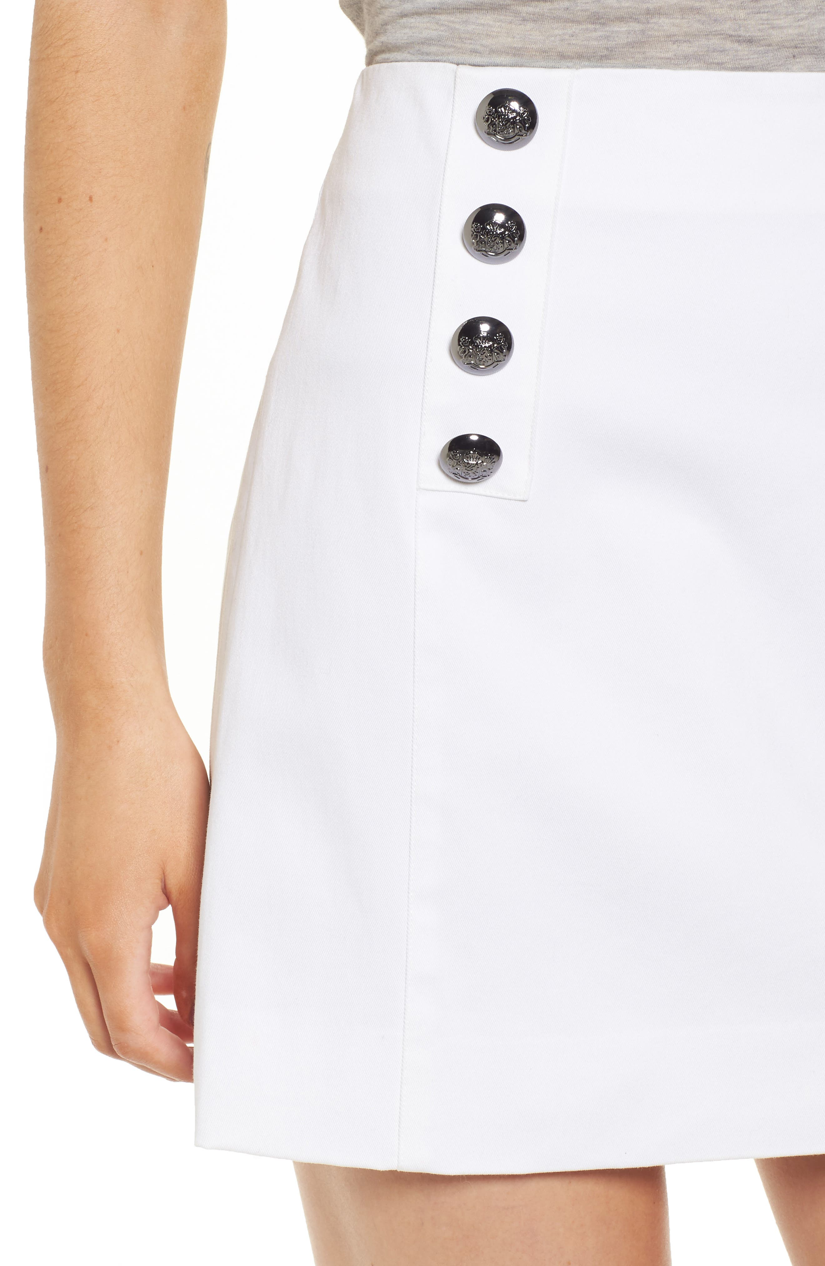 Sloane Miniskirt,                             Alternate thumbnail 4, color,                             907