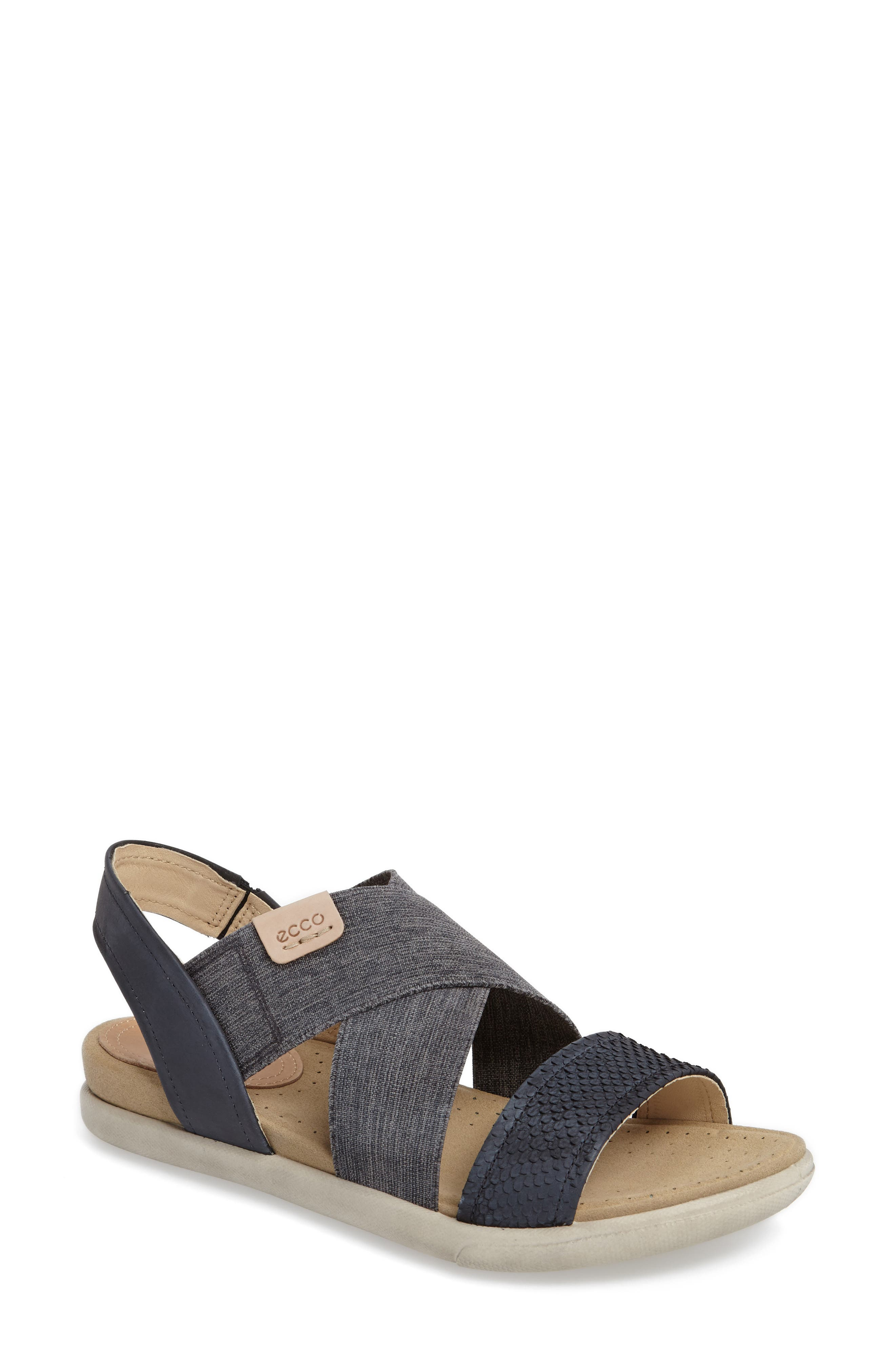 Damara Cross-Strap Sandal,                             Main thumbnail 5, color,