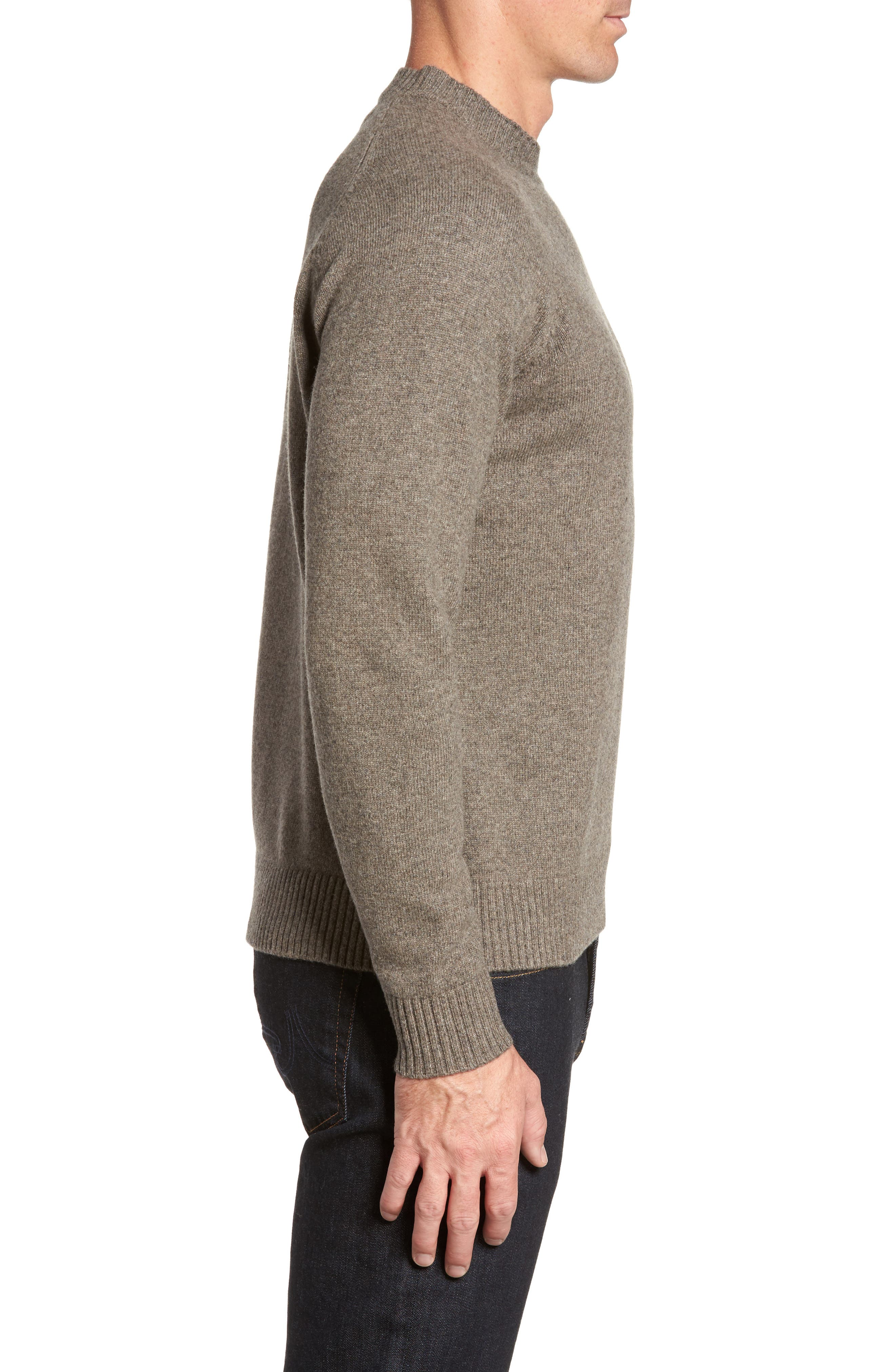 Crown Vintage Crewneck Sweatshirt,                             Alternate thumbnail 3, color,                             199