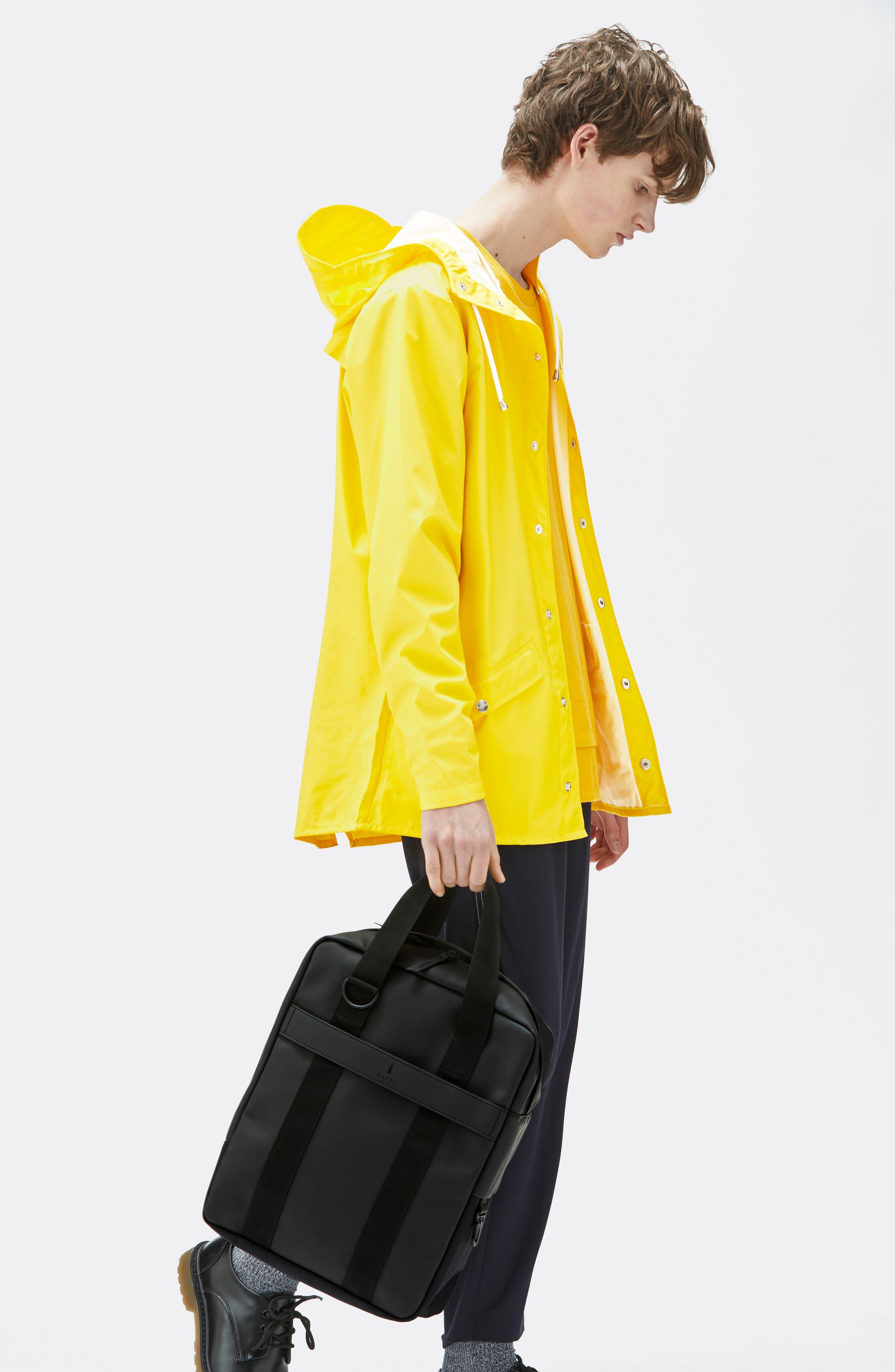 Waterproof Utility Tote Bag,                             Alternate thumbnail 7, color,                             BLACK