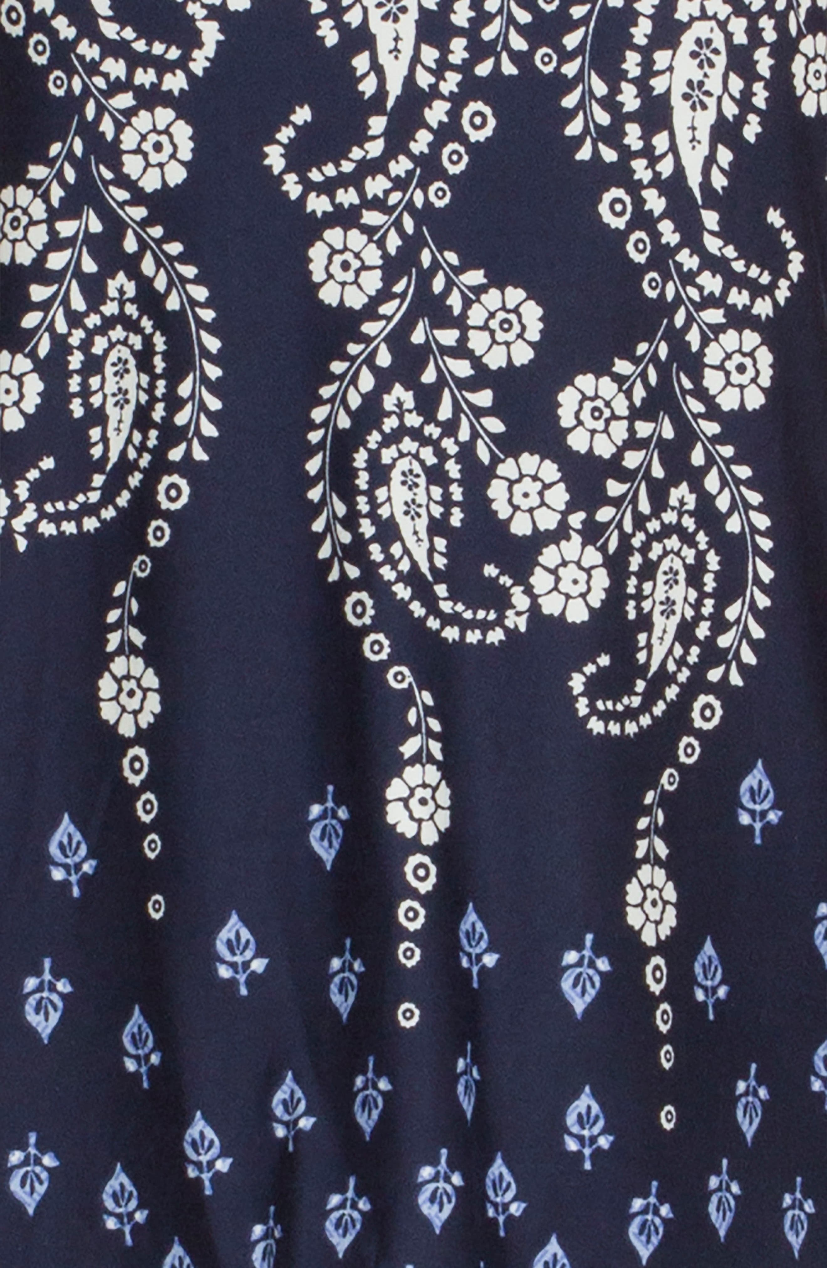 Camisole,                             Alternate thumbnail 4, color,                             NAVY/ IVORY PRINT