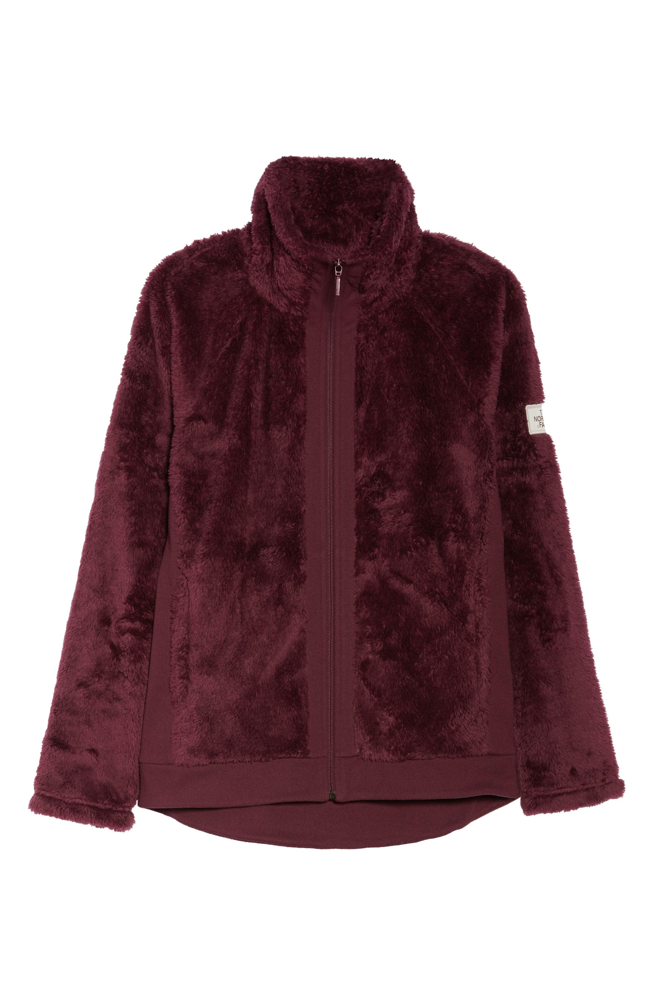 Furry Fleece Jacket,                             Alternate thumbnail 34, color,