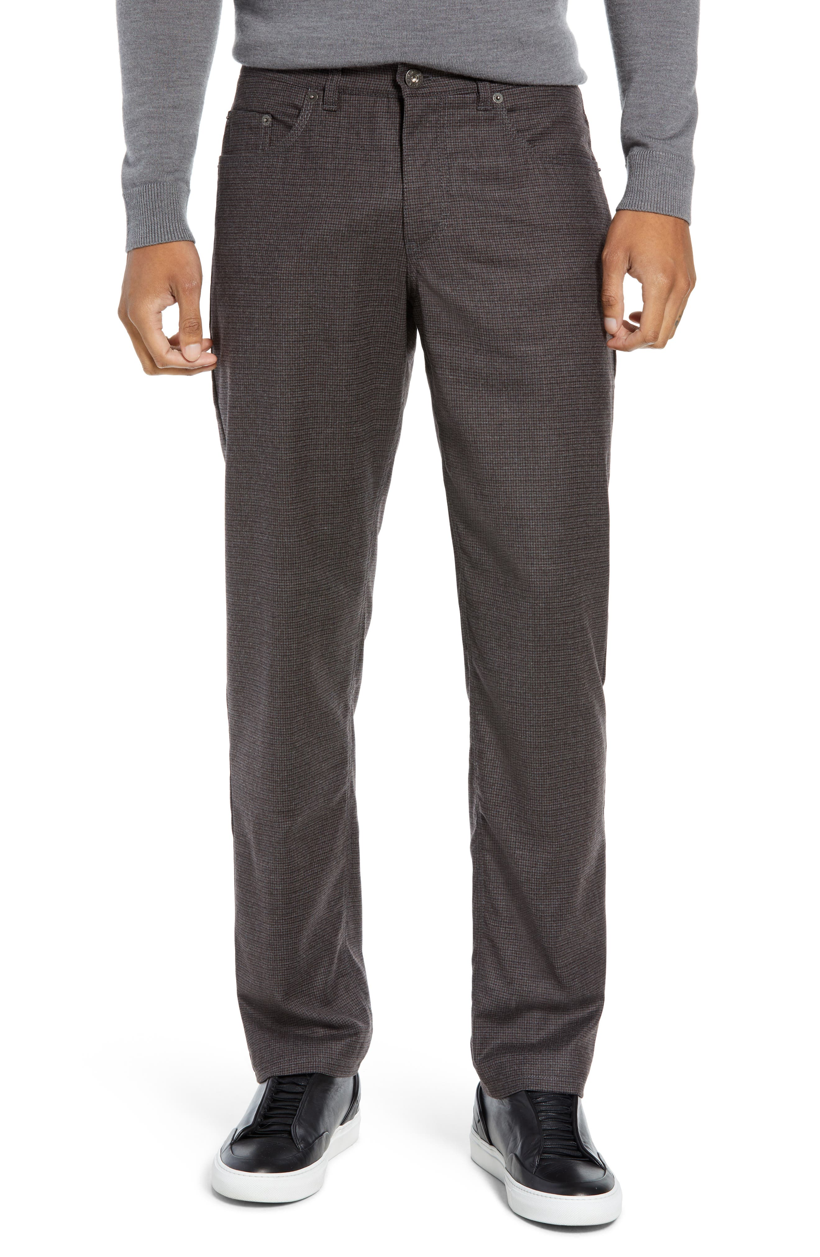 Cadiz Five Pocket Stretch Wool Trousers,                         Main,                         color, ANTHRACITE