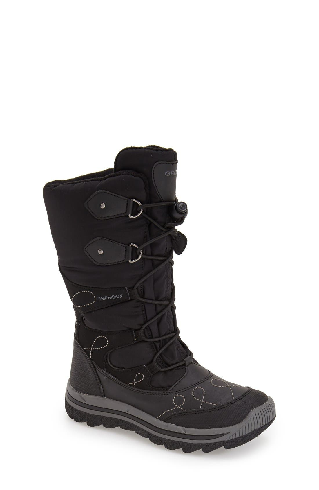 'Overland ABX' Waterproof Boot,                         Main,                         color, 001